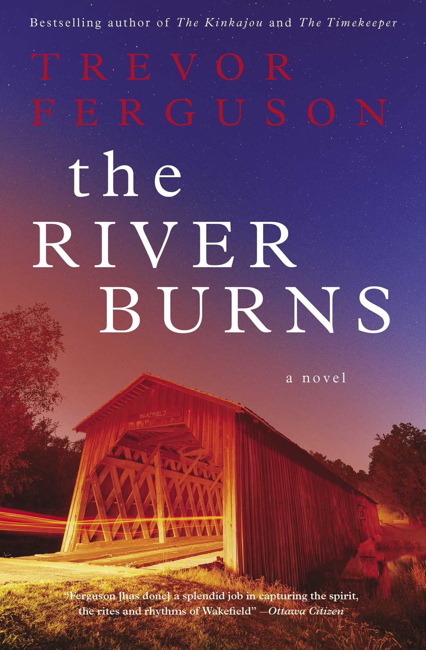 The river burns 9781476726380 hr