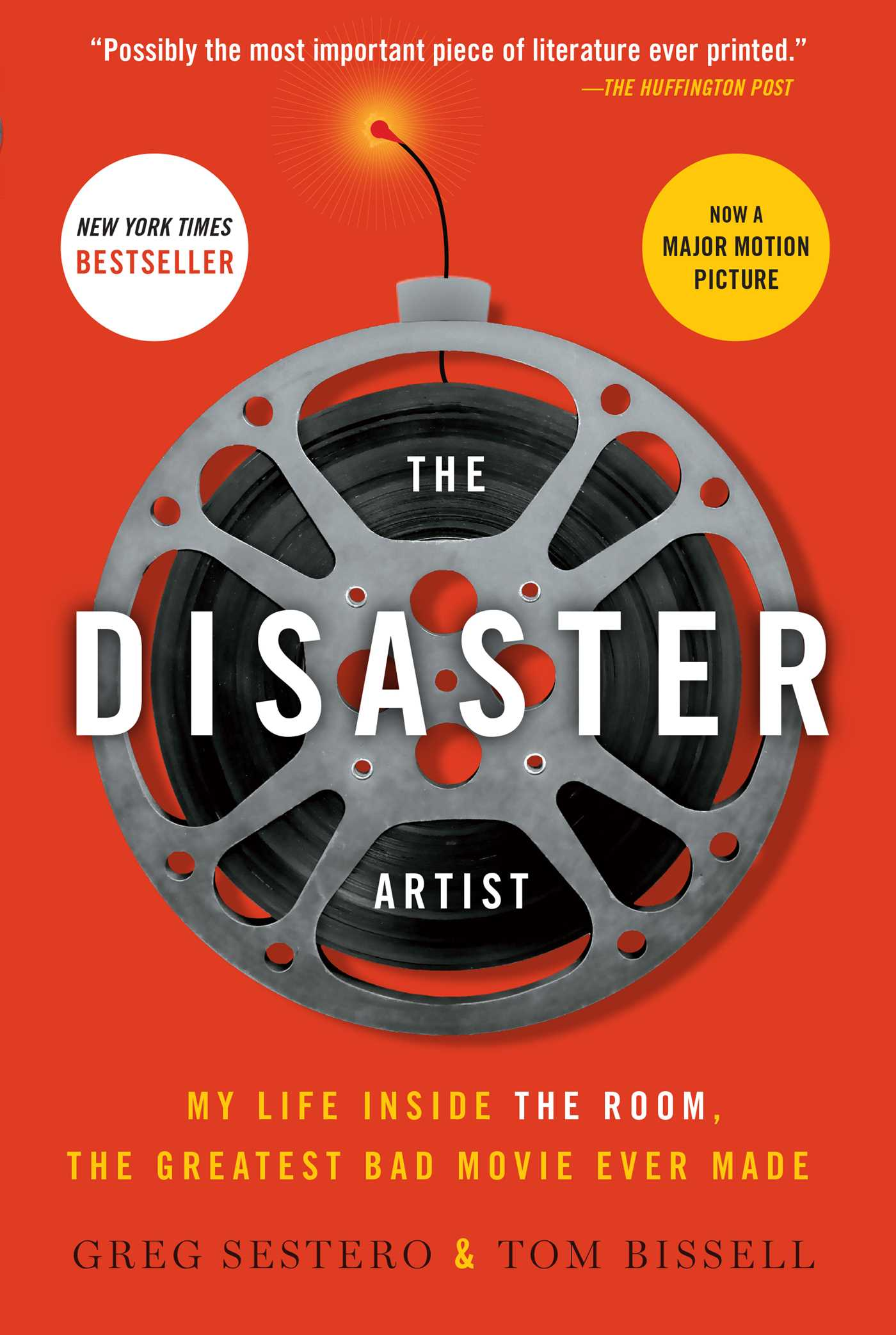 The disaster artist 9781476730400 hr