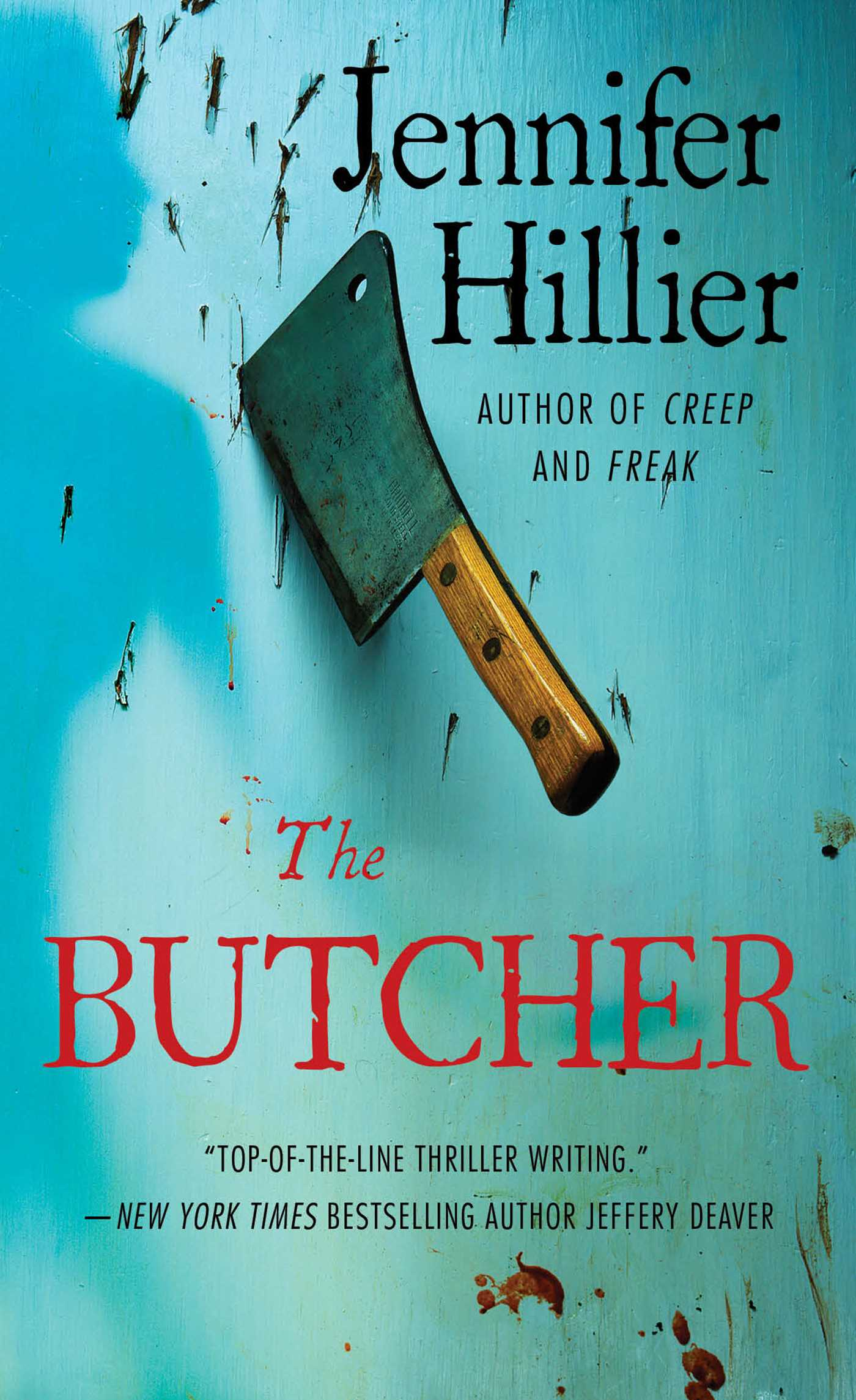 The butcher 9781476734231 hr