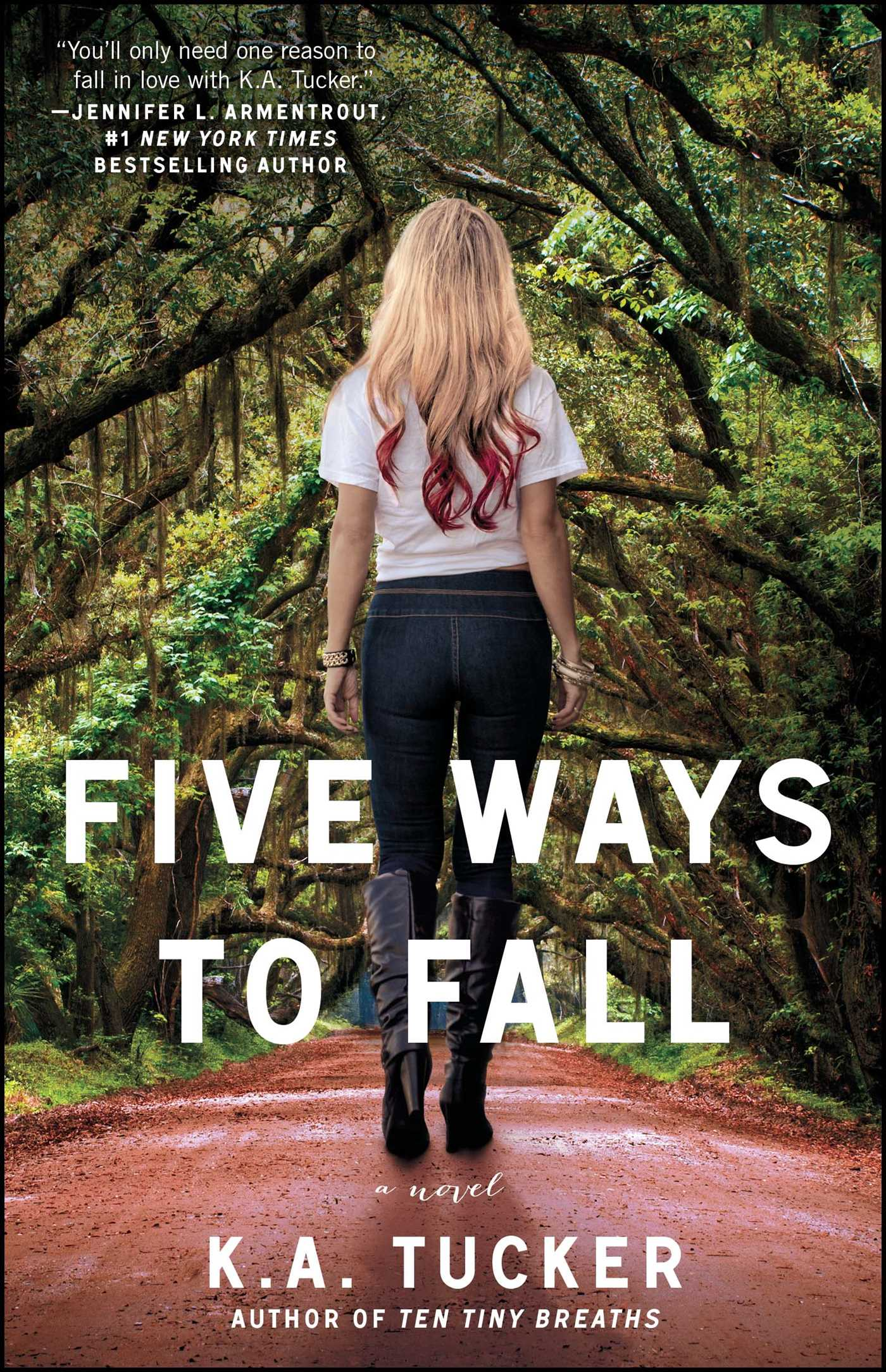 Five ways to fall 9781476740522 hr