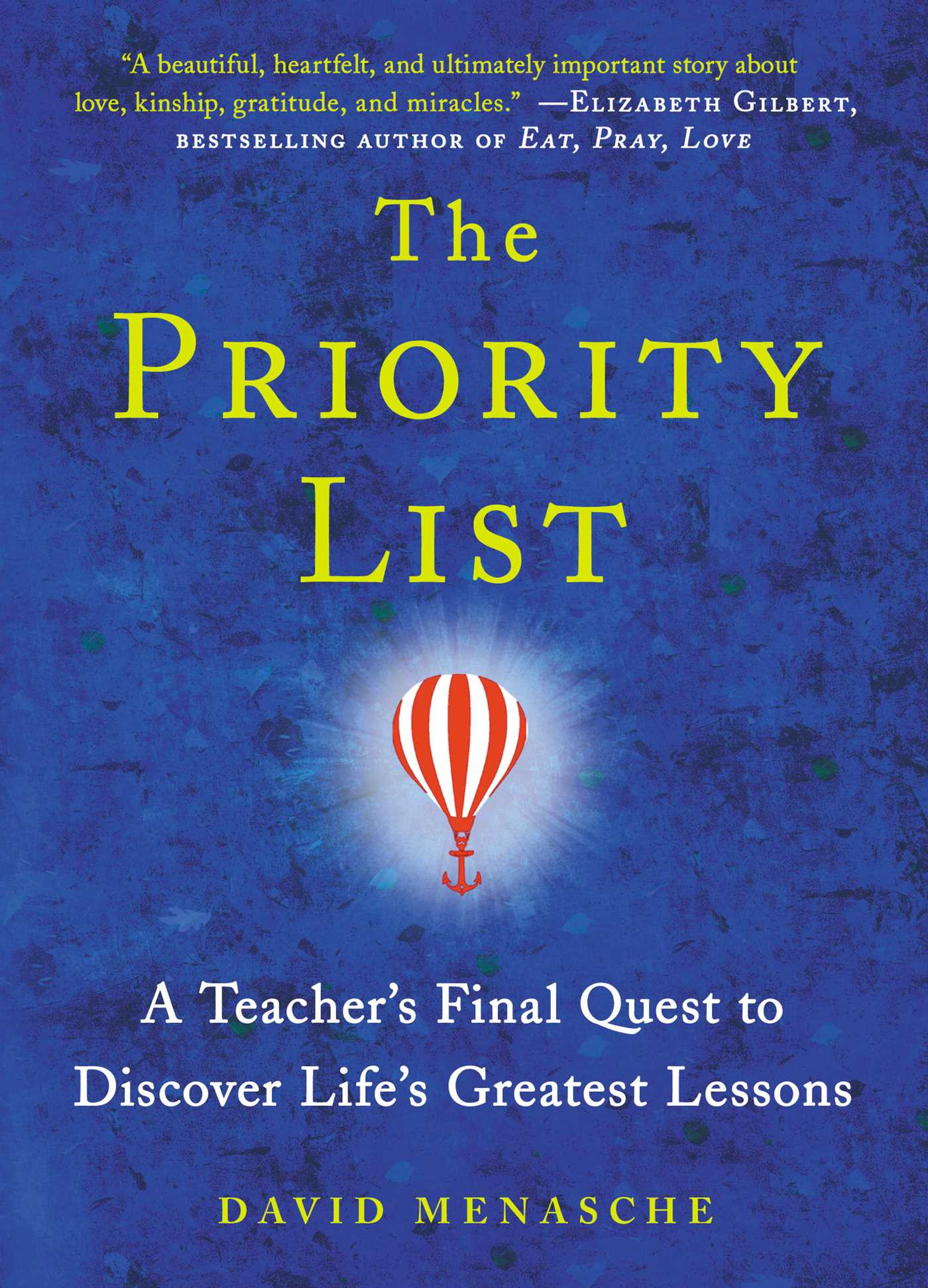 The priority list 9781476743462 hr
