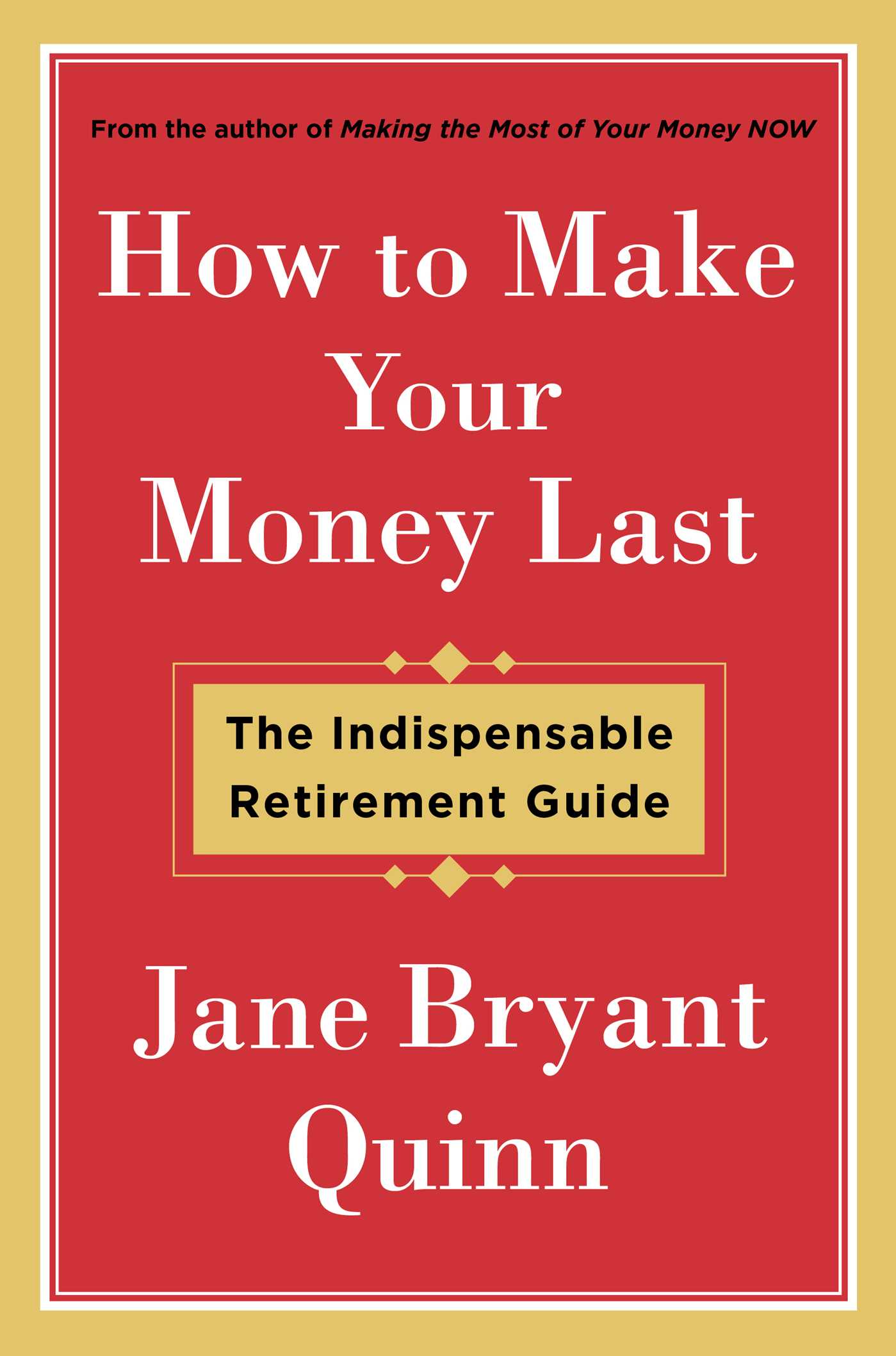 How to make your money last 9781476743769 hr