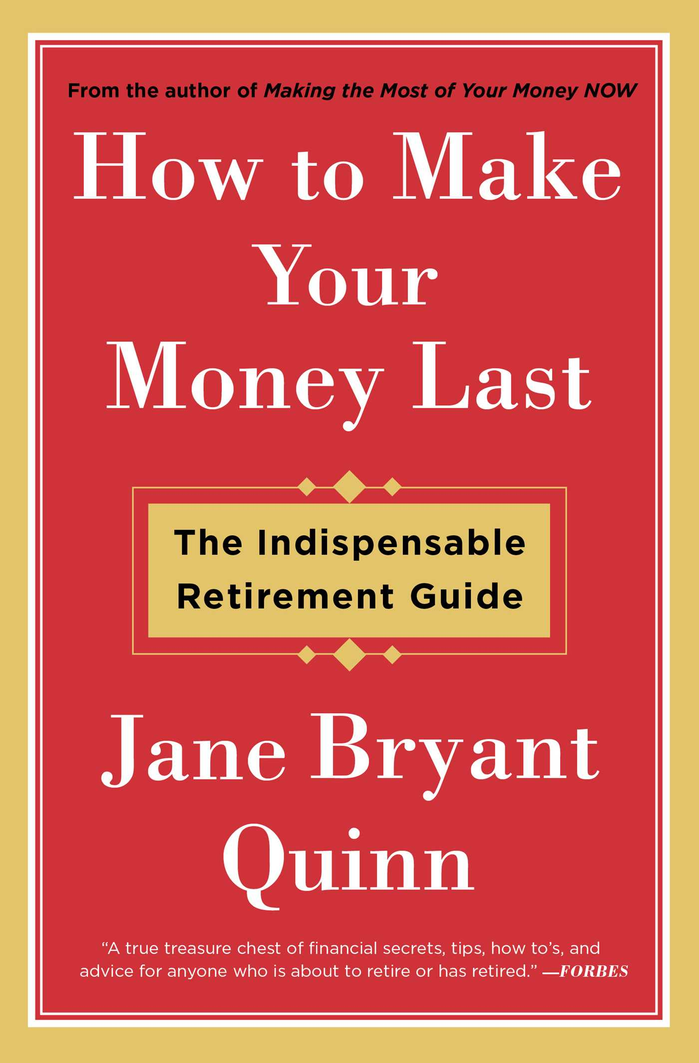 How to make your money last 9781476743776 hr