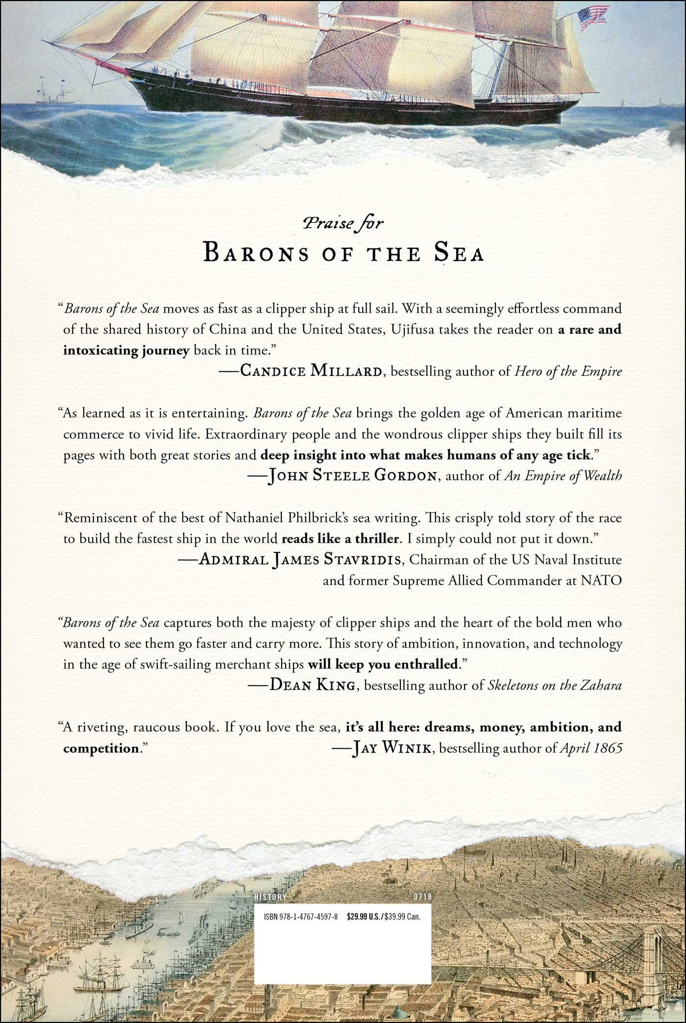 Barons of the sea 9781476745978 hr back