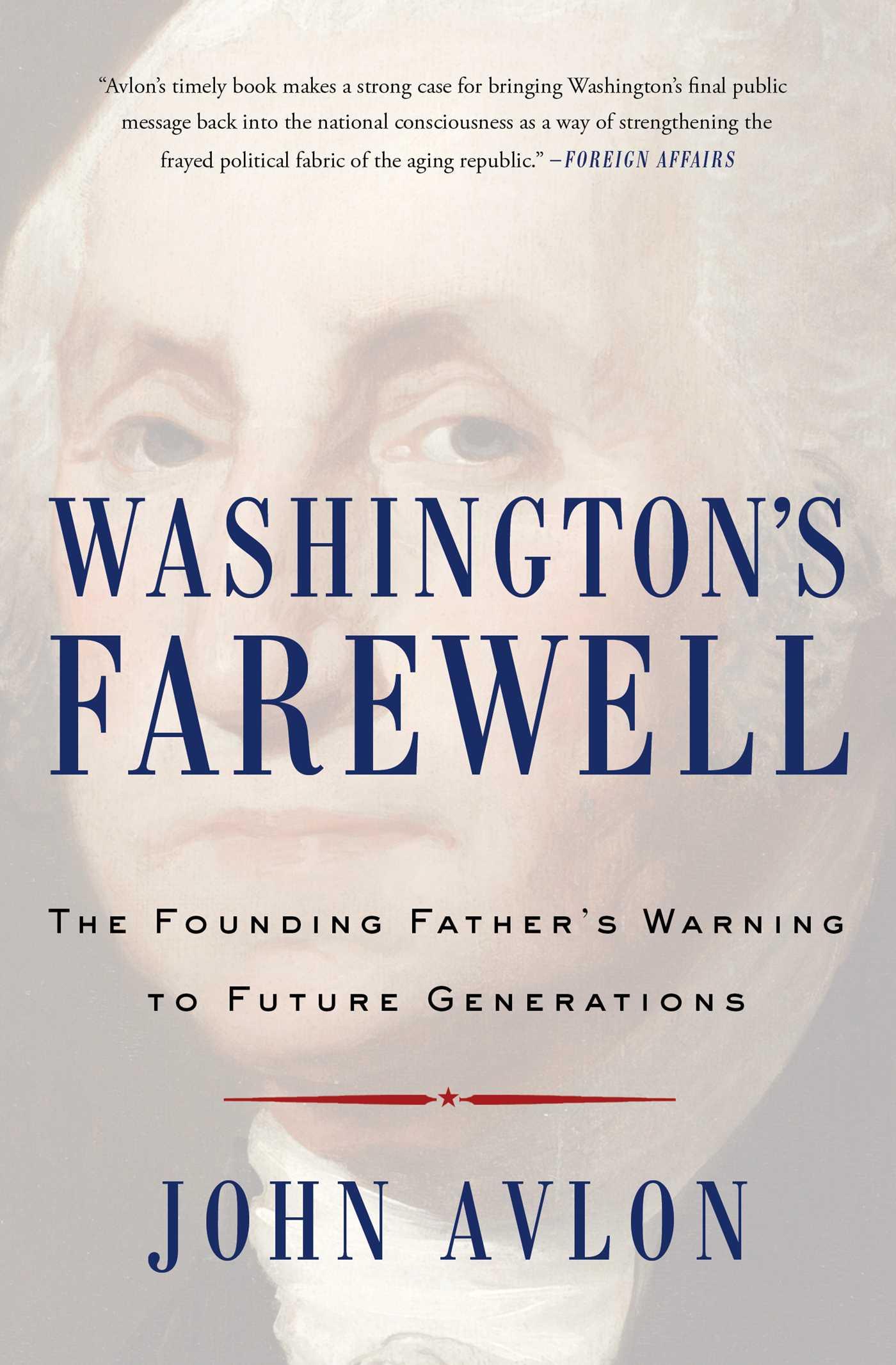 Washingtons farewell 9781476746470 hr