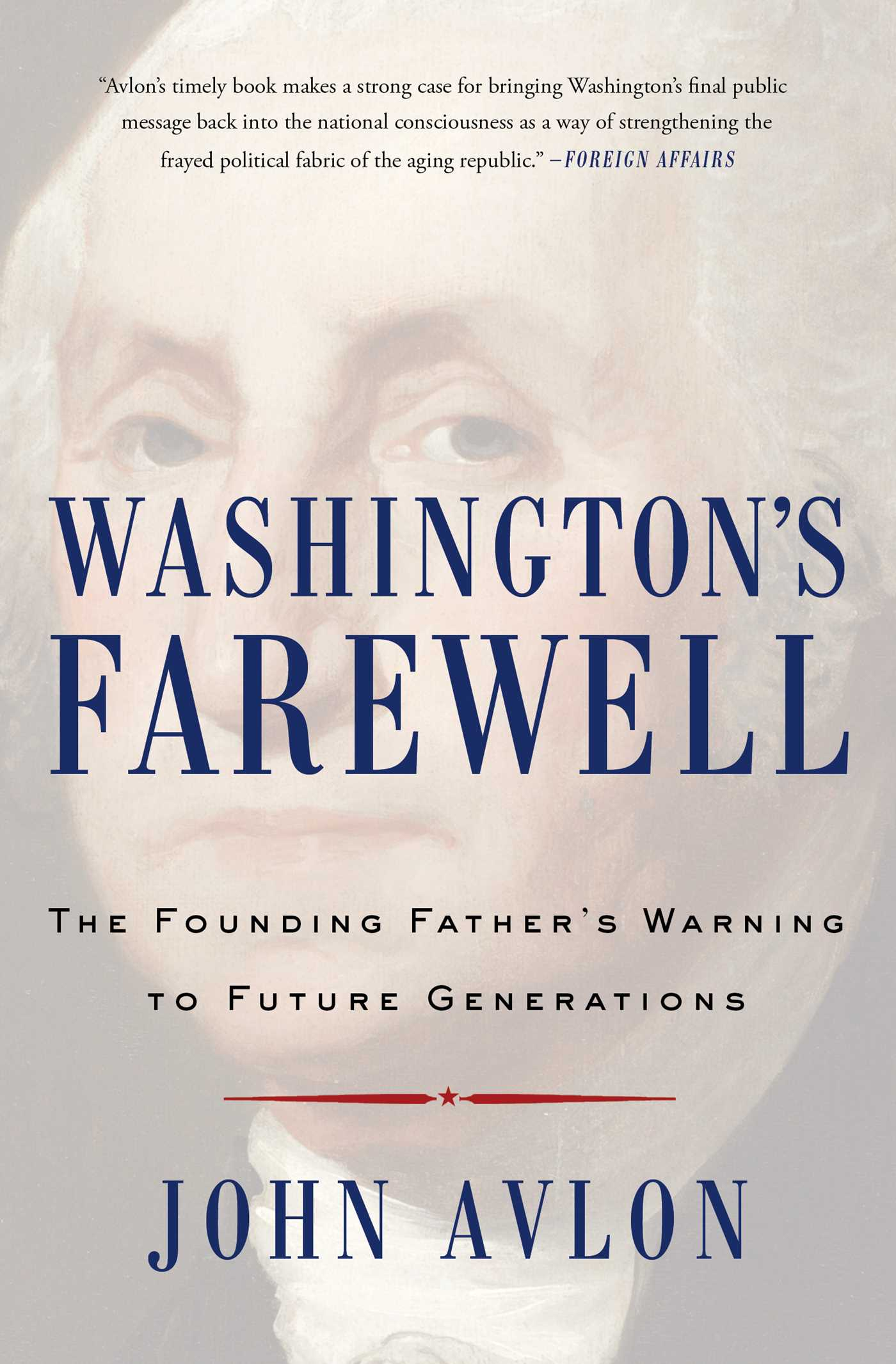 Washingtons farewell 9781476746487 hr