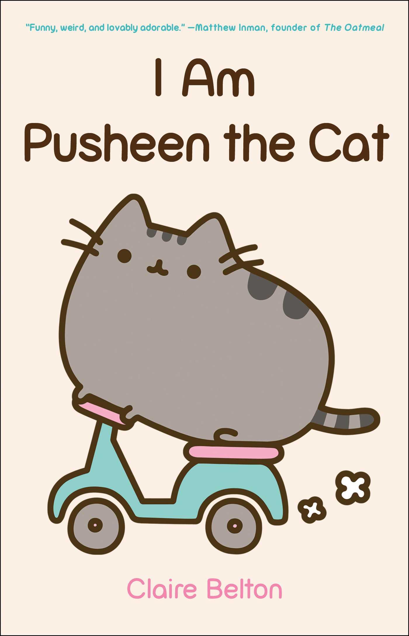 I am pusheen the cat 9781476747019 hr