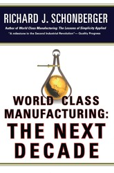 World Class Manufacturing: The Next Decade