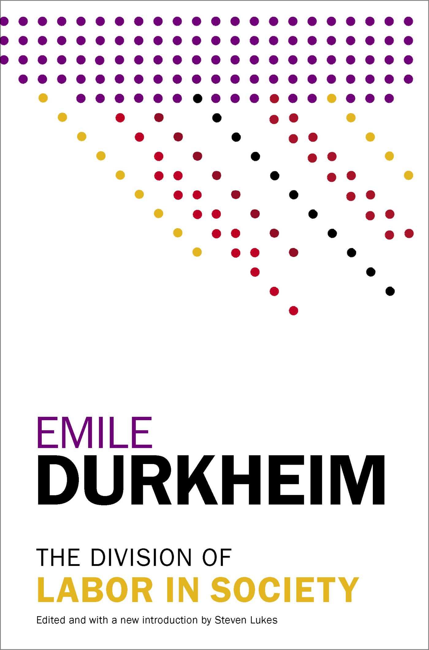 emile durkheim a split of struggle inside society