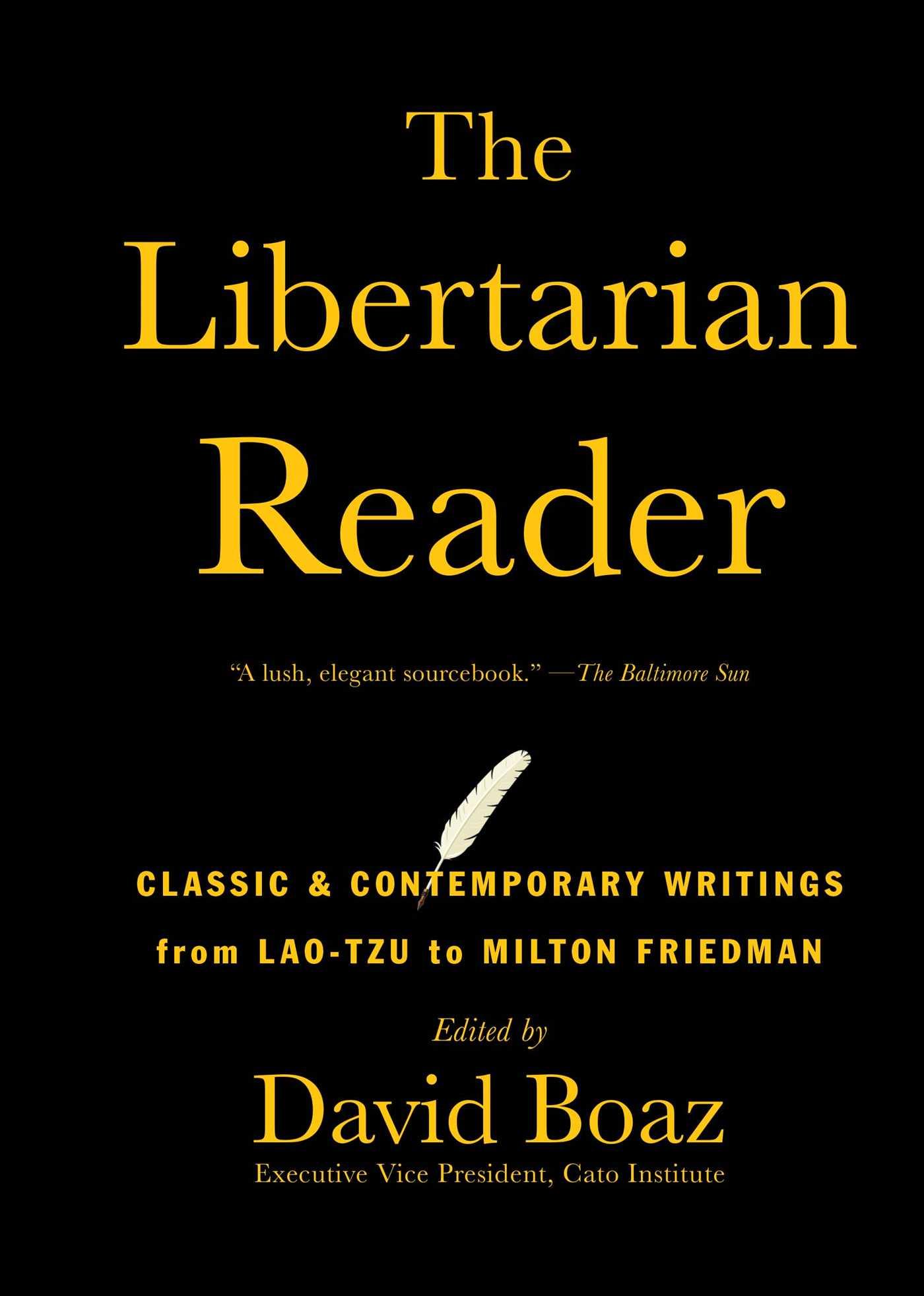The libertarian reader 9781476752891 hr