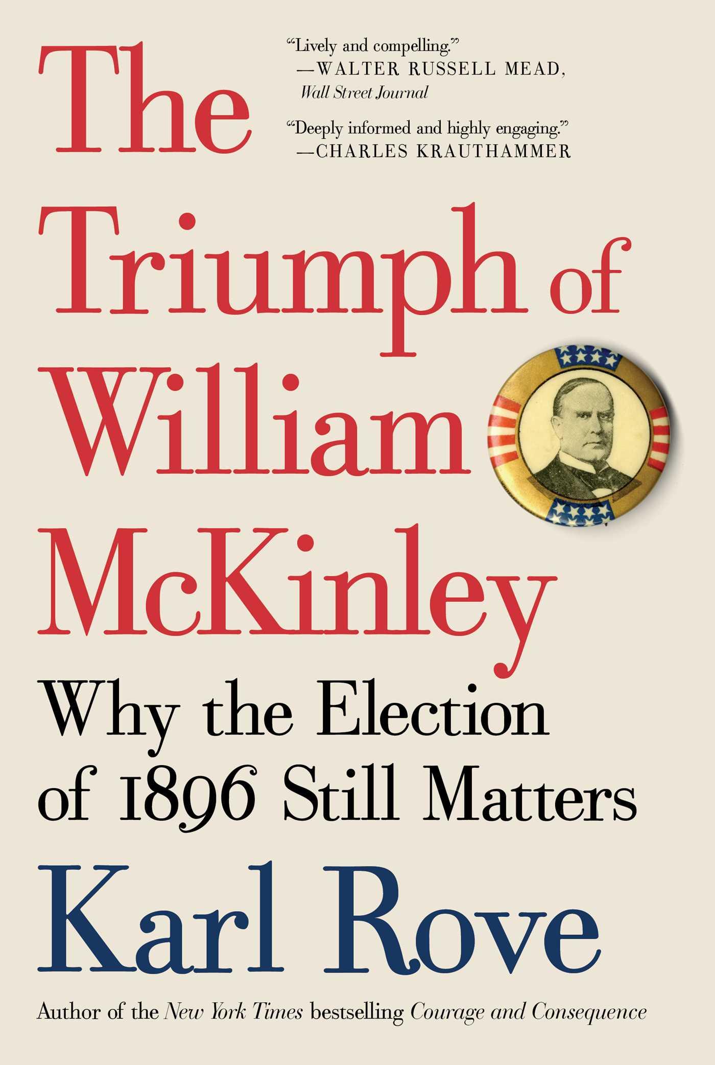 The triumph of william mckinley 9781476752969 hr
