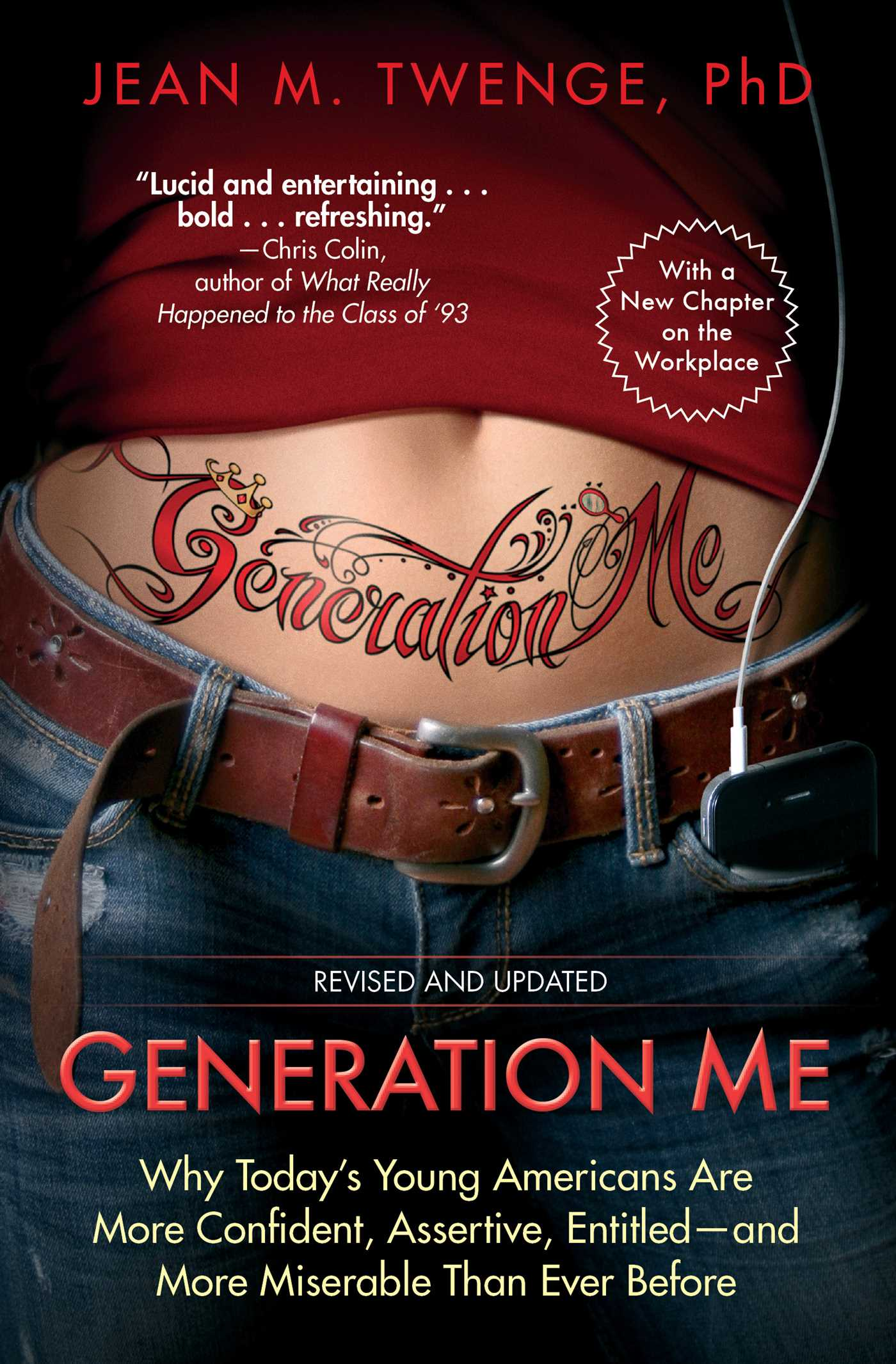 Generation me revised and updated 9781476755564 hr