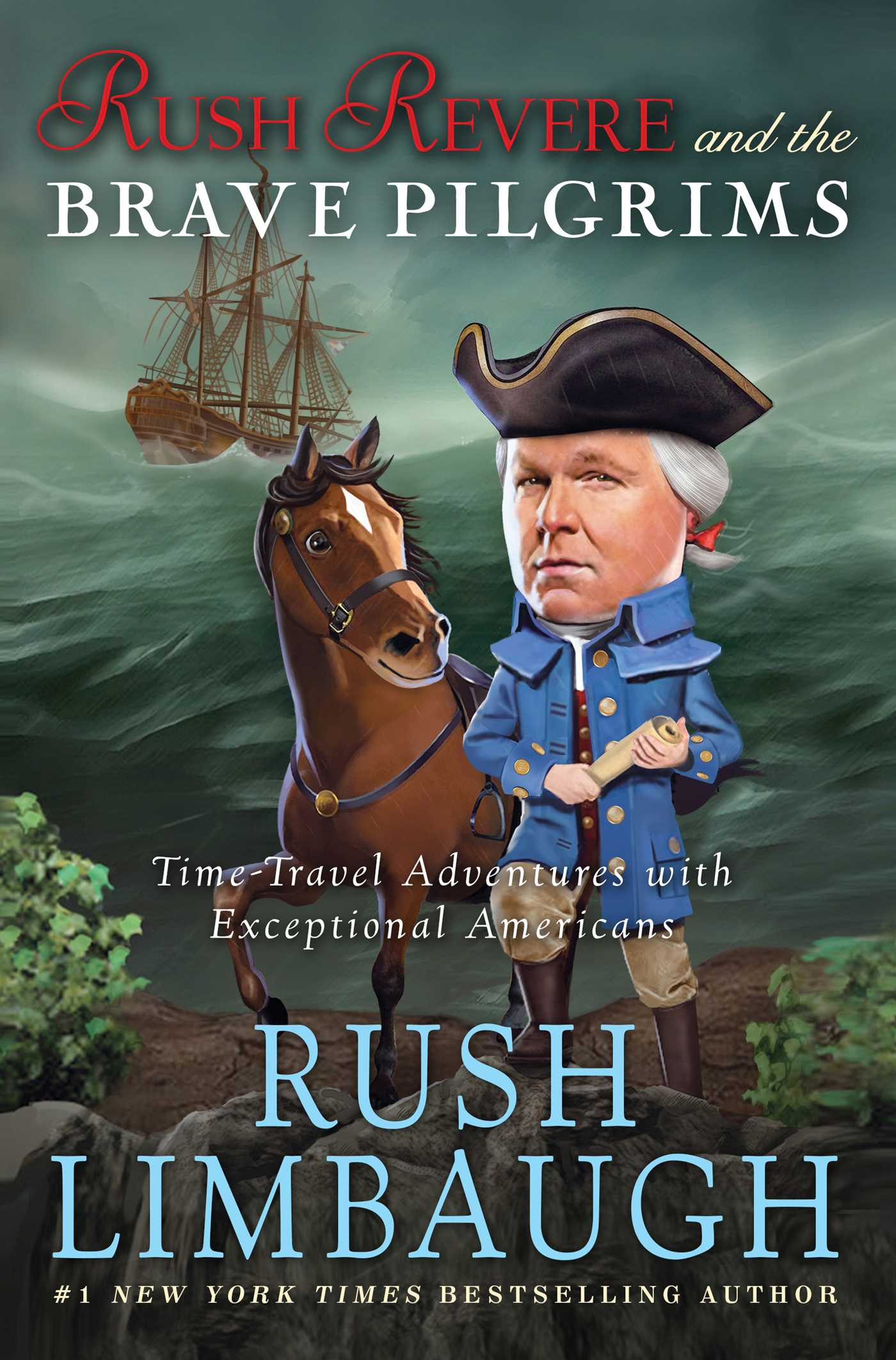 Rush revere and the brave pilgrims 9781476755915 hr