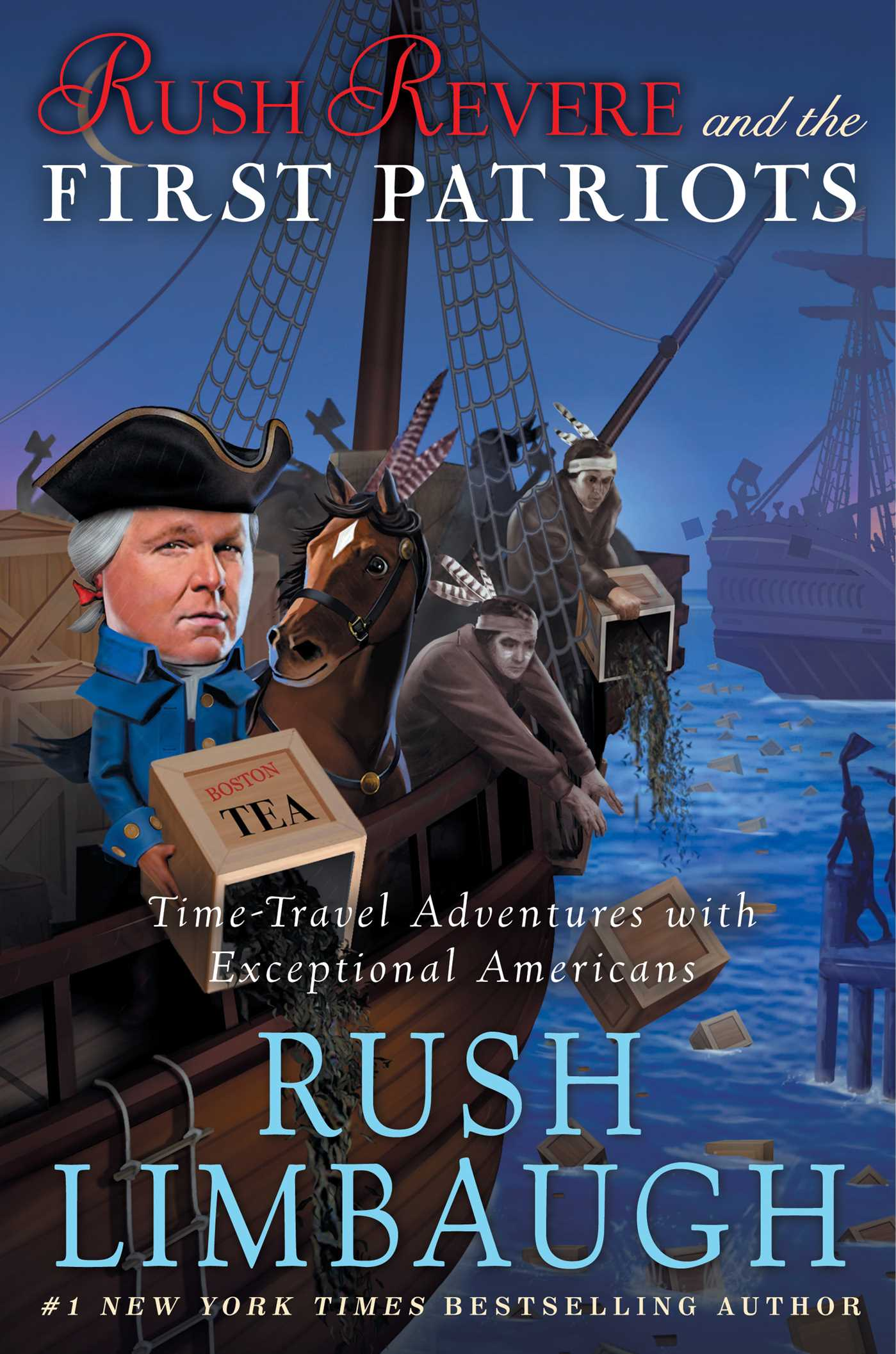 Rush revere and the first patriots 9781476755922 hr