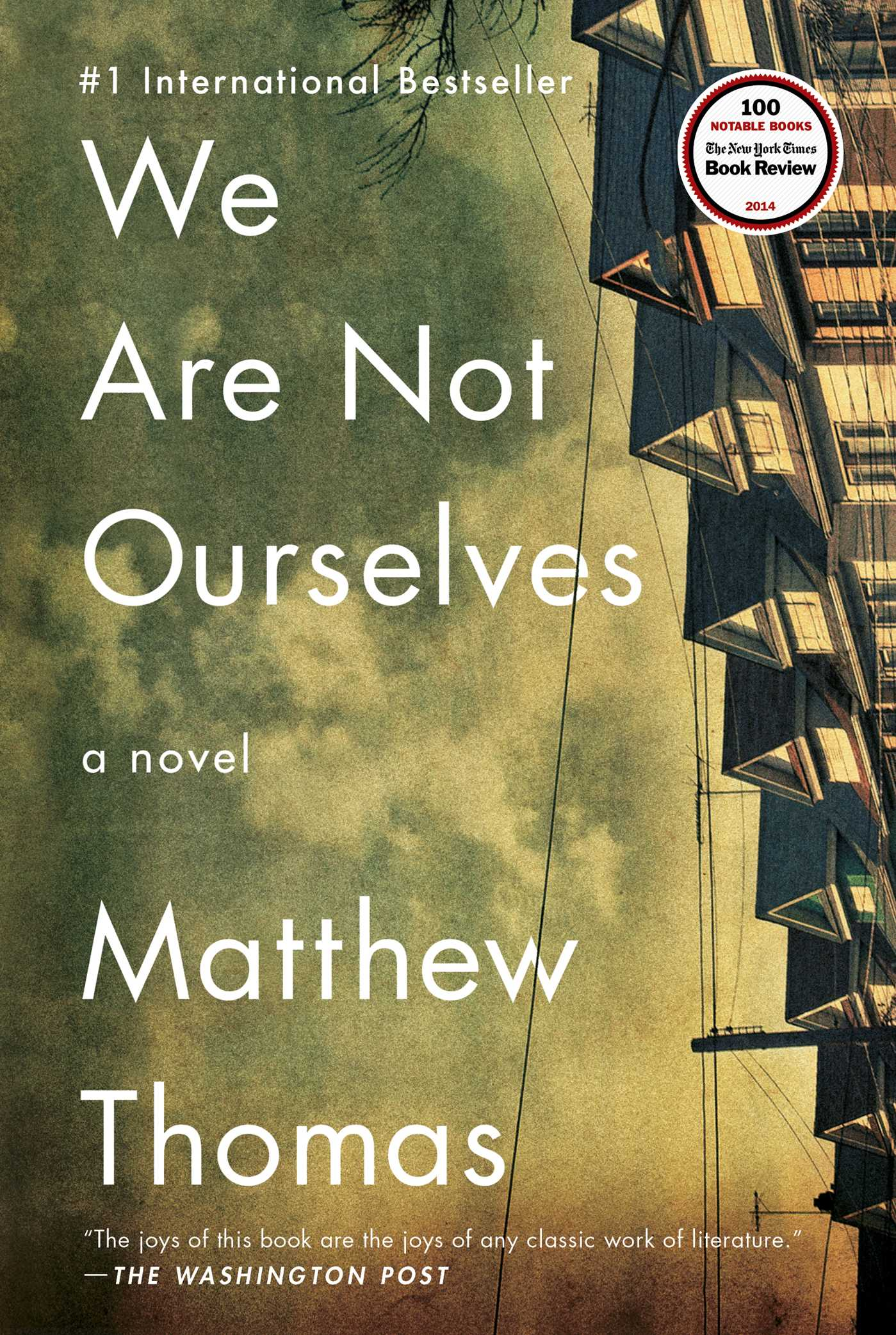 Book Cover Image (jpg): We Are Not Ourselves