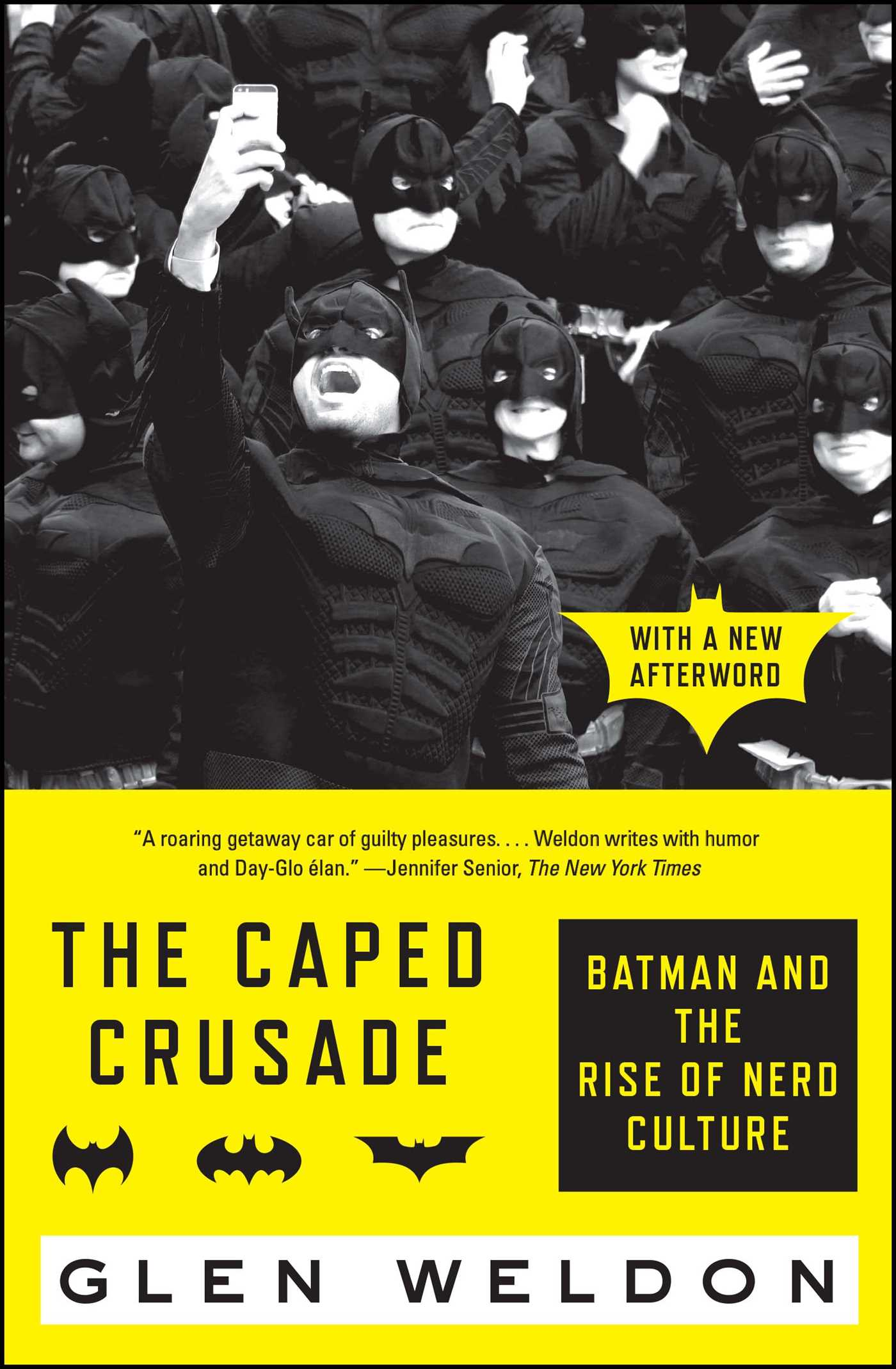 The caped crusade 9781476756738 hr