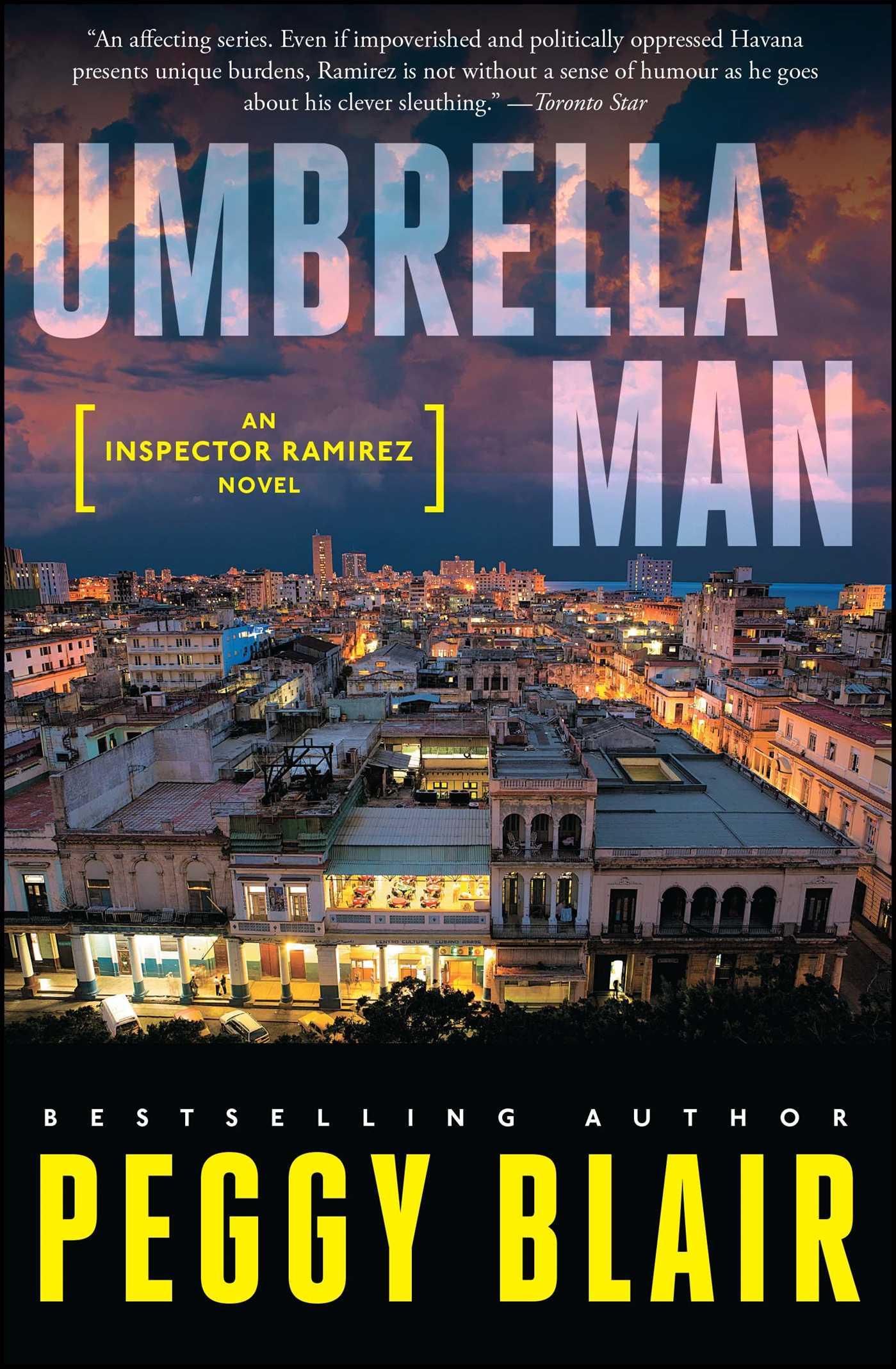 Umbrella man 9781476757964 hr