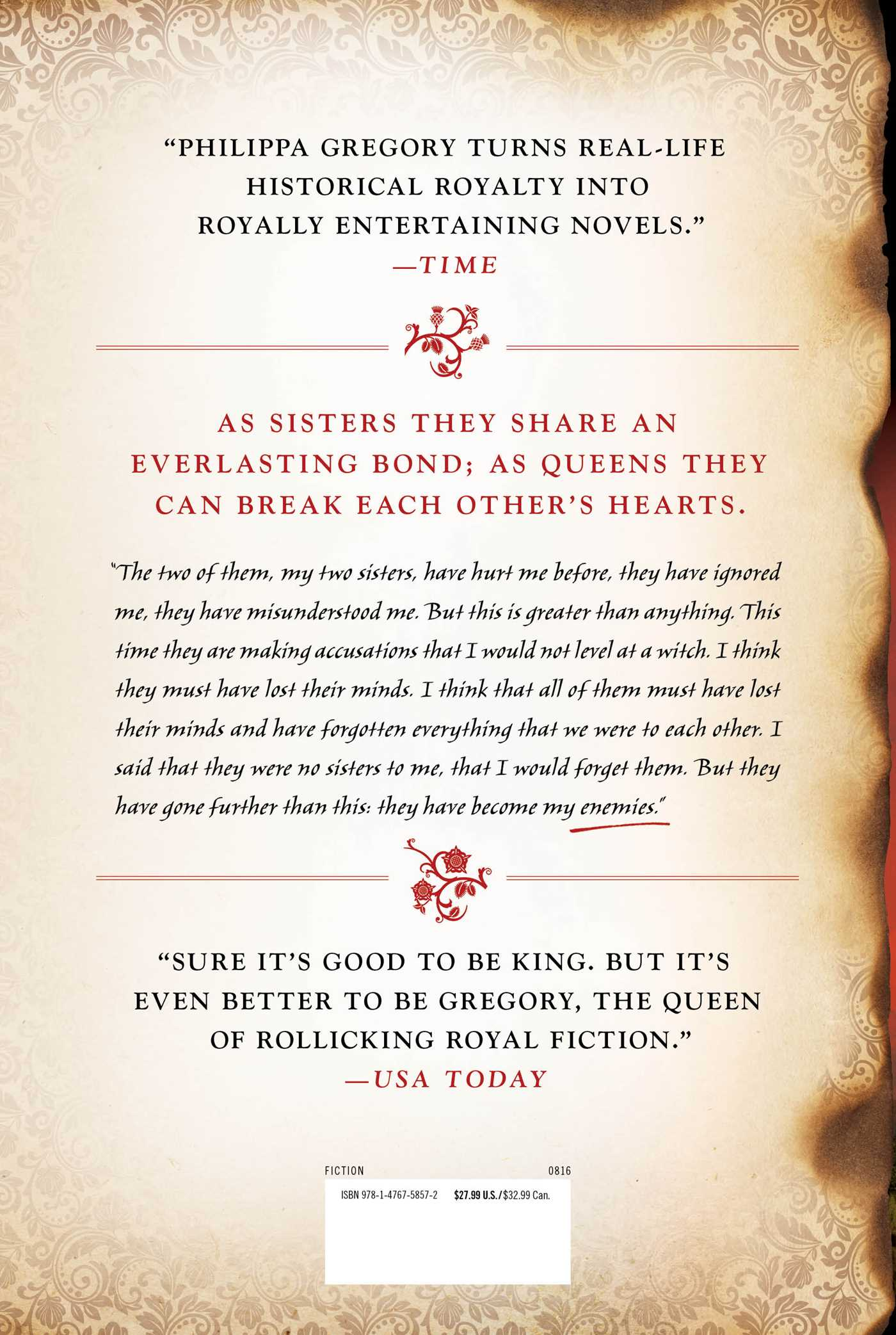 Three Sisters, Three Queens | Book by Philippa Gregory