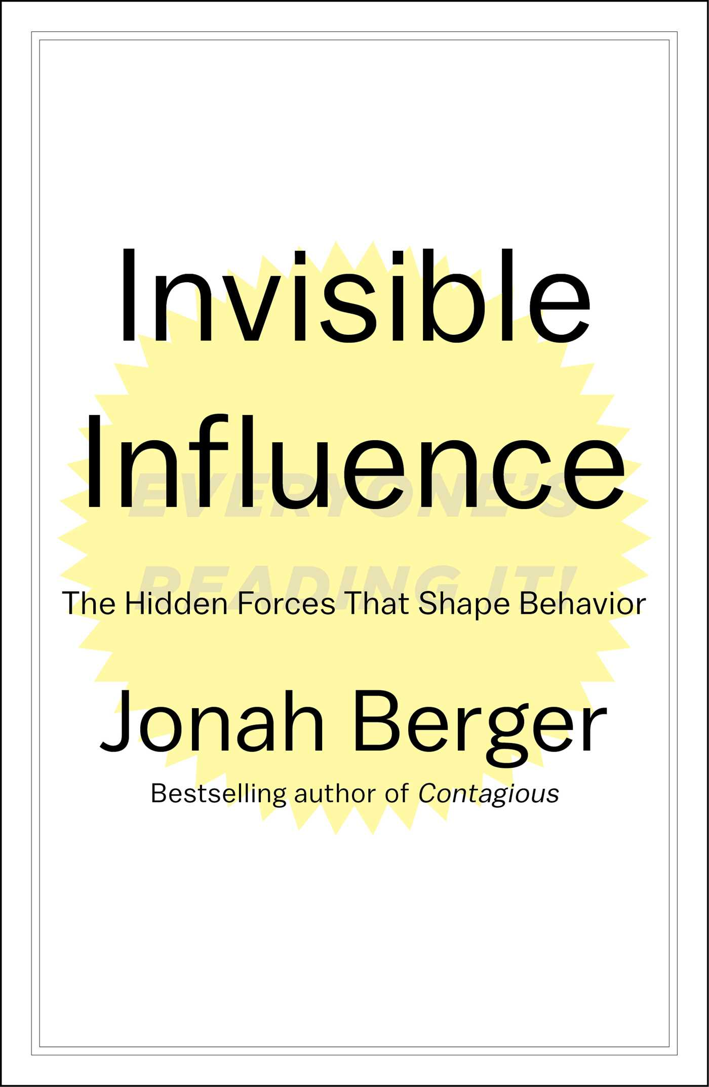 Invisible influence 9781476759692 hr