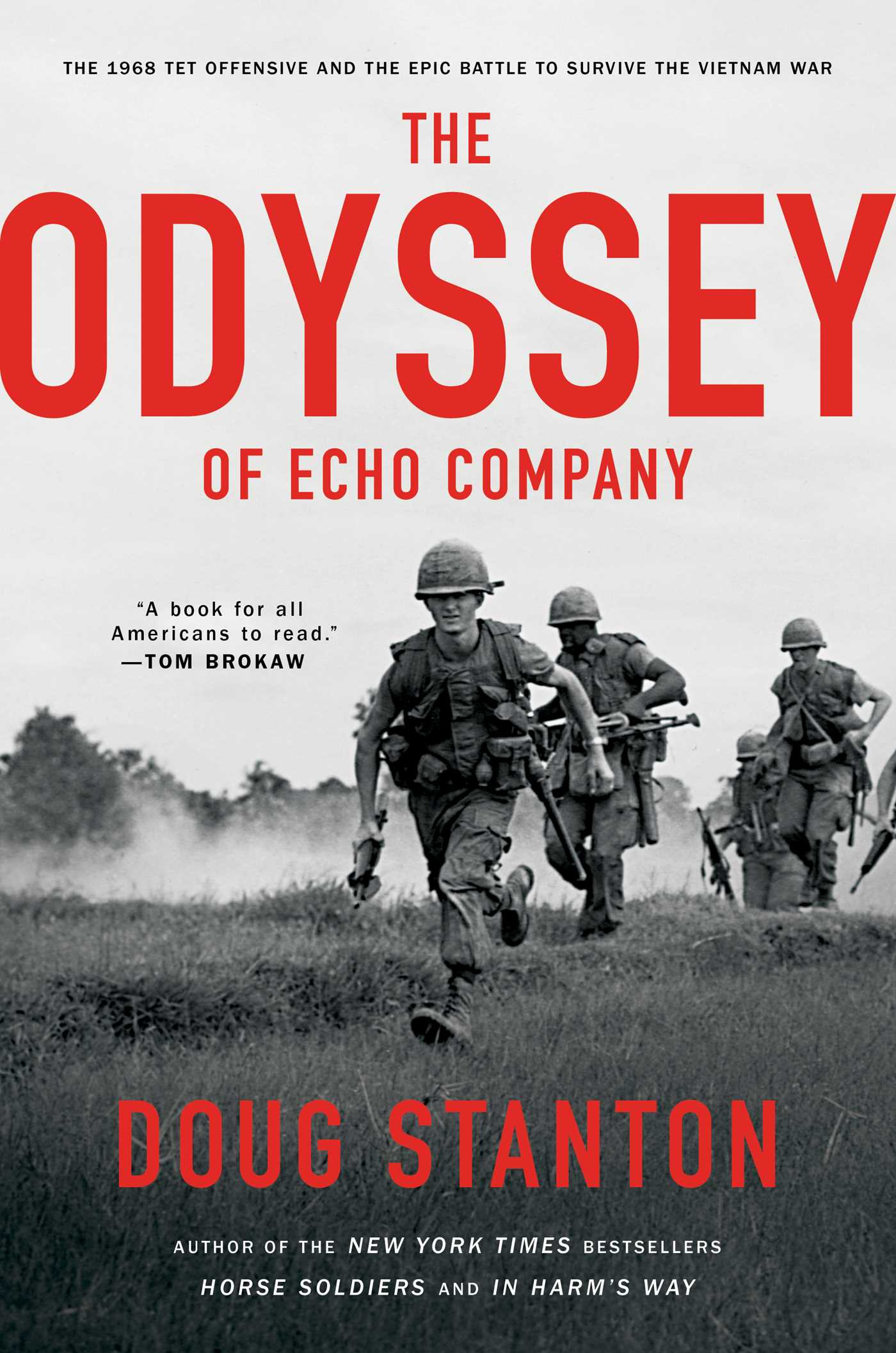 The odyssey of echo company 9781476761916 hr