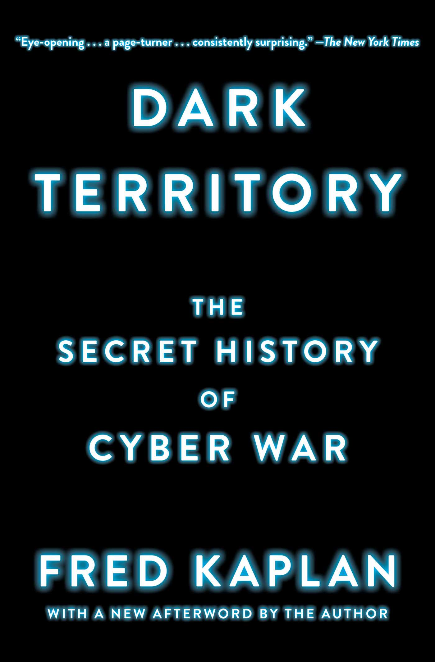 Dark territory 9781476763262 hr