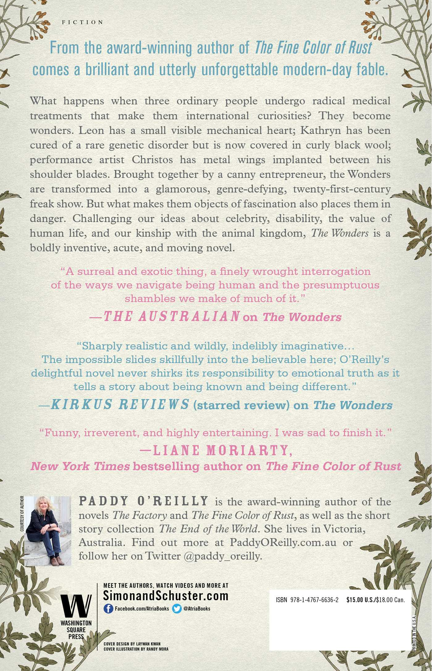 The Wonders | Book by Paddy O'Reilly | Official Publisher Page