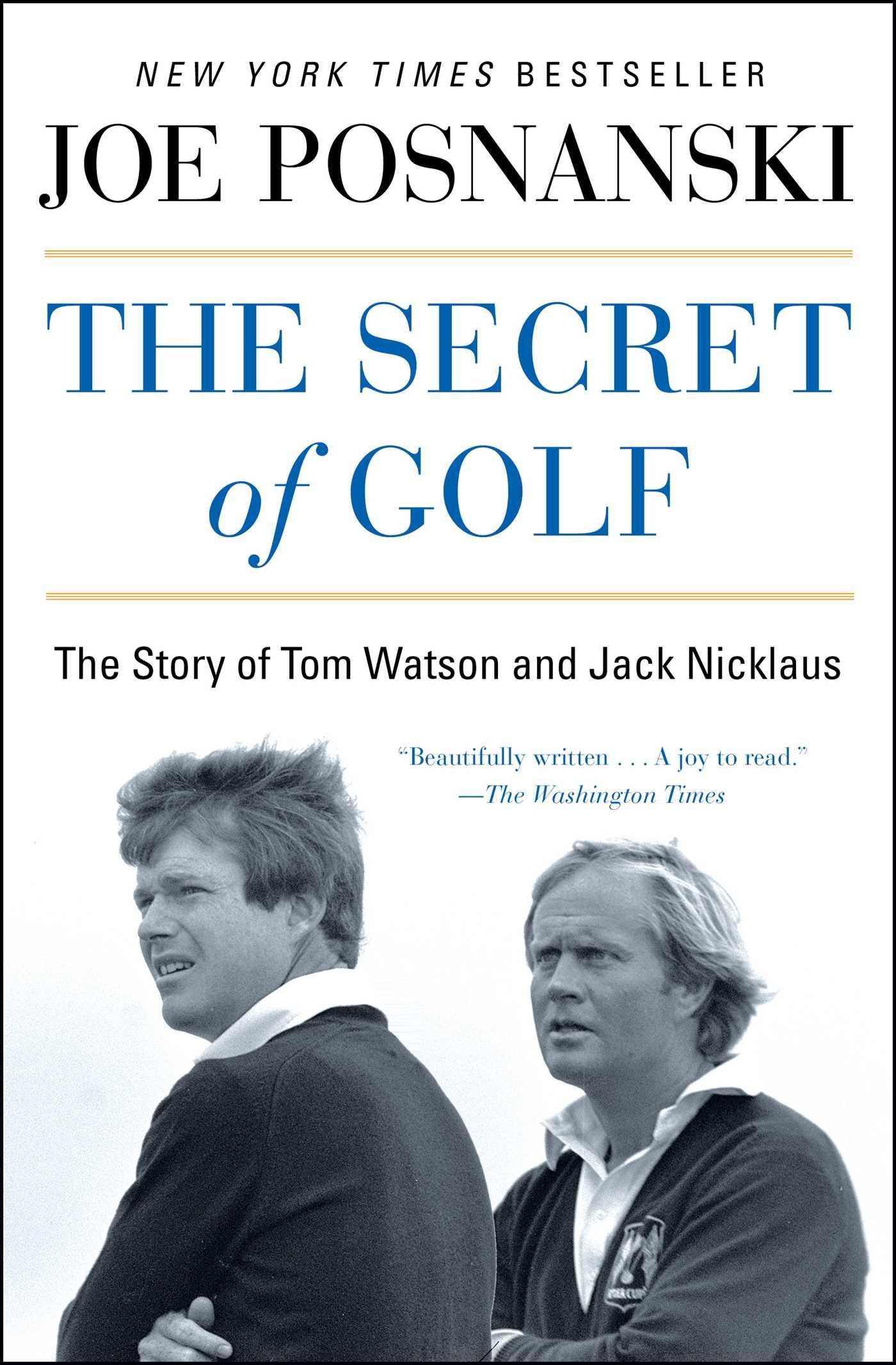 The secret of golf 9781476766454 hr