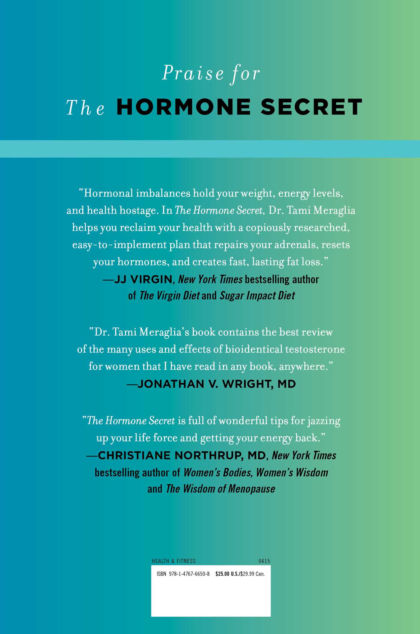 Hormone joy and active rest