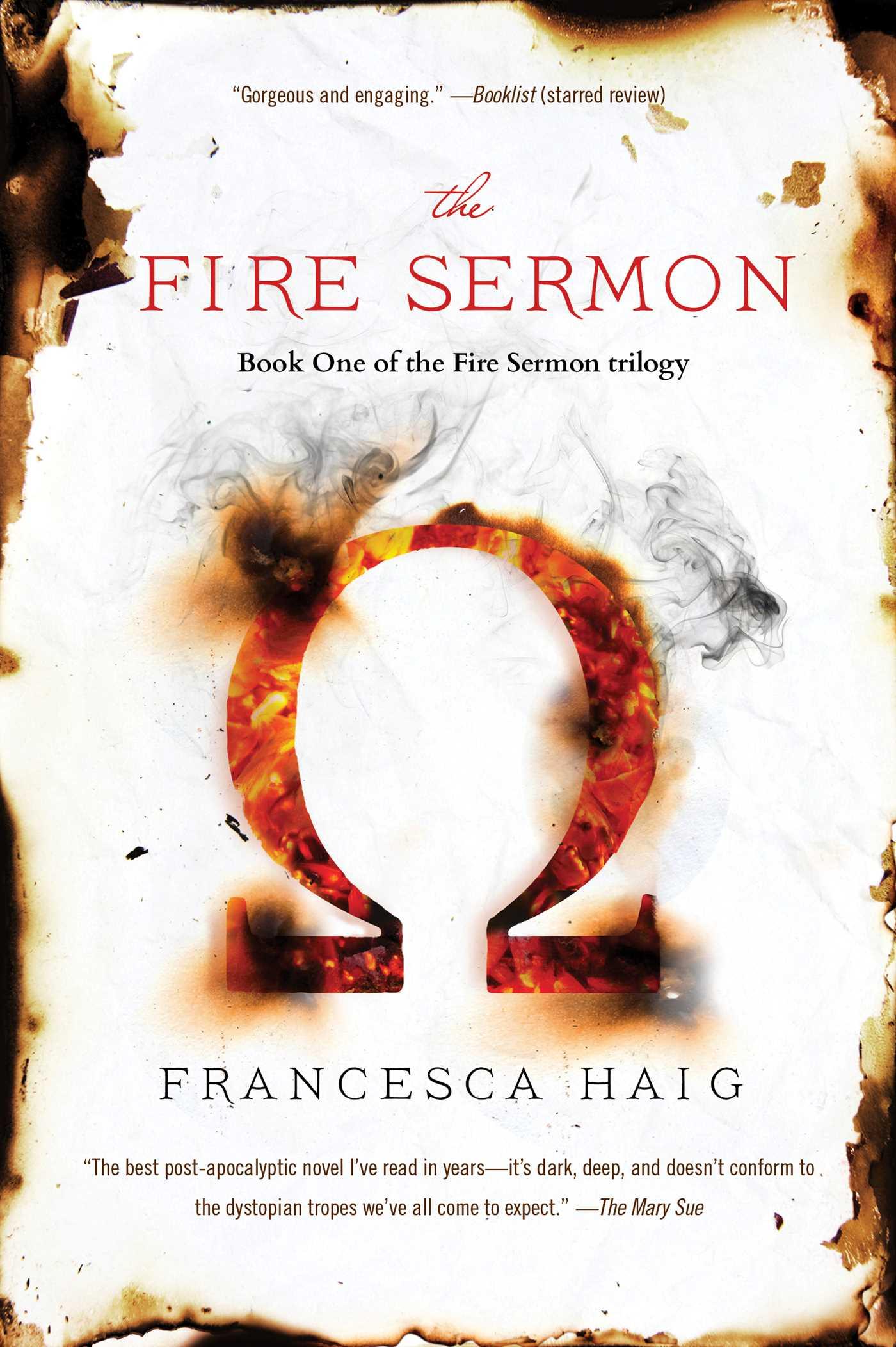 The fire sermon 9781476767215 hr