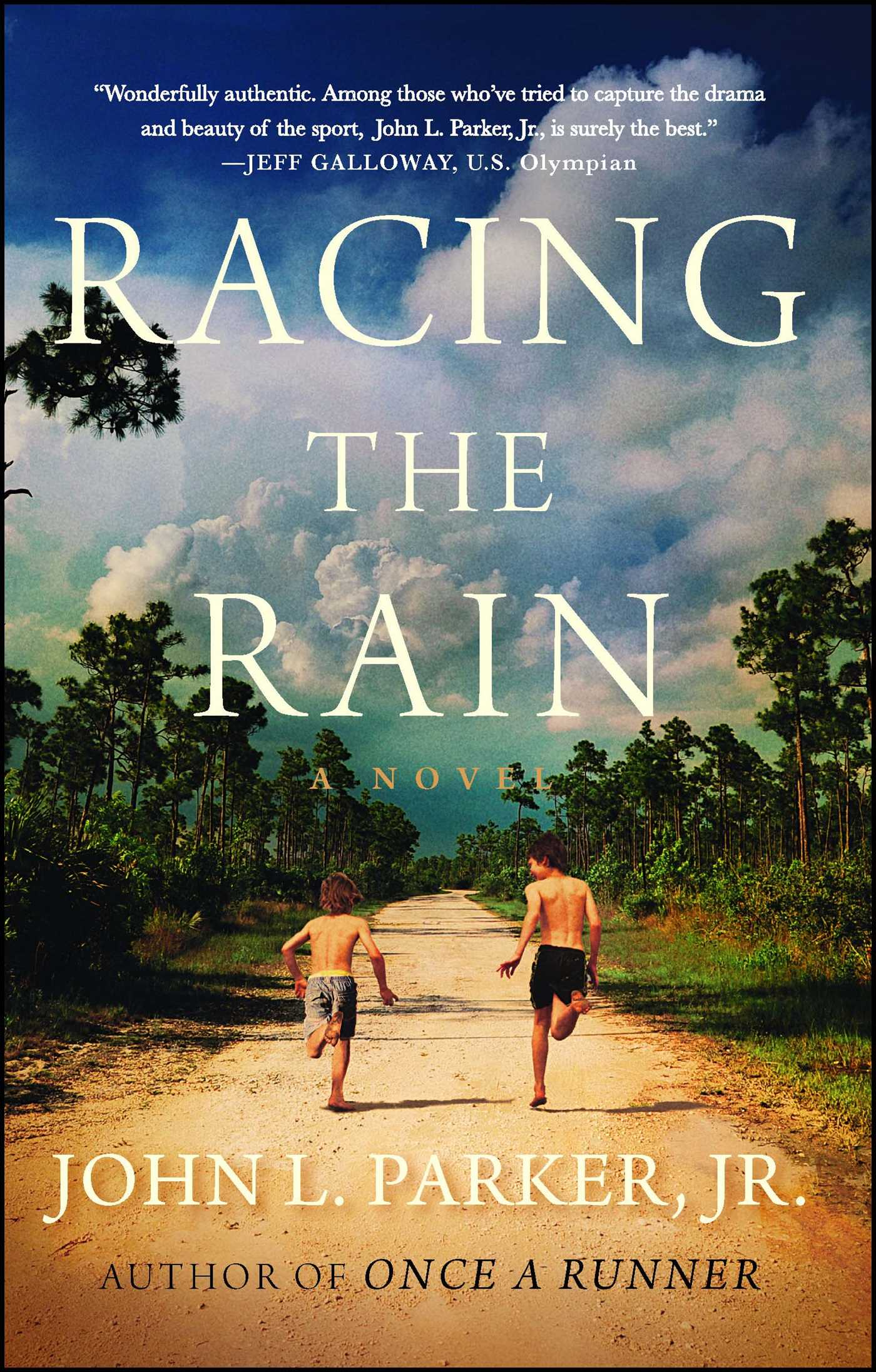 Book Cover Image (jpg): Racing the Rain