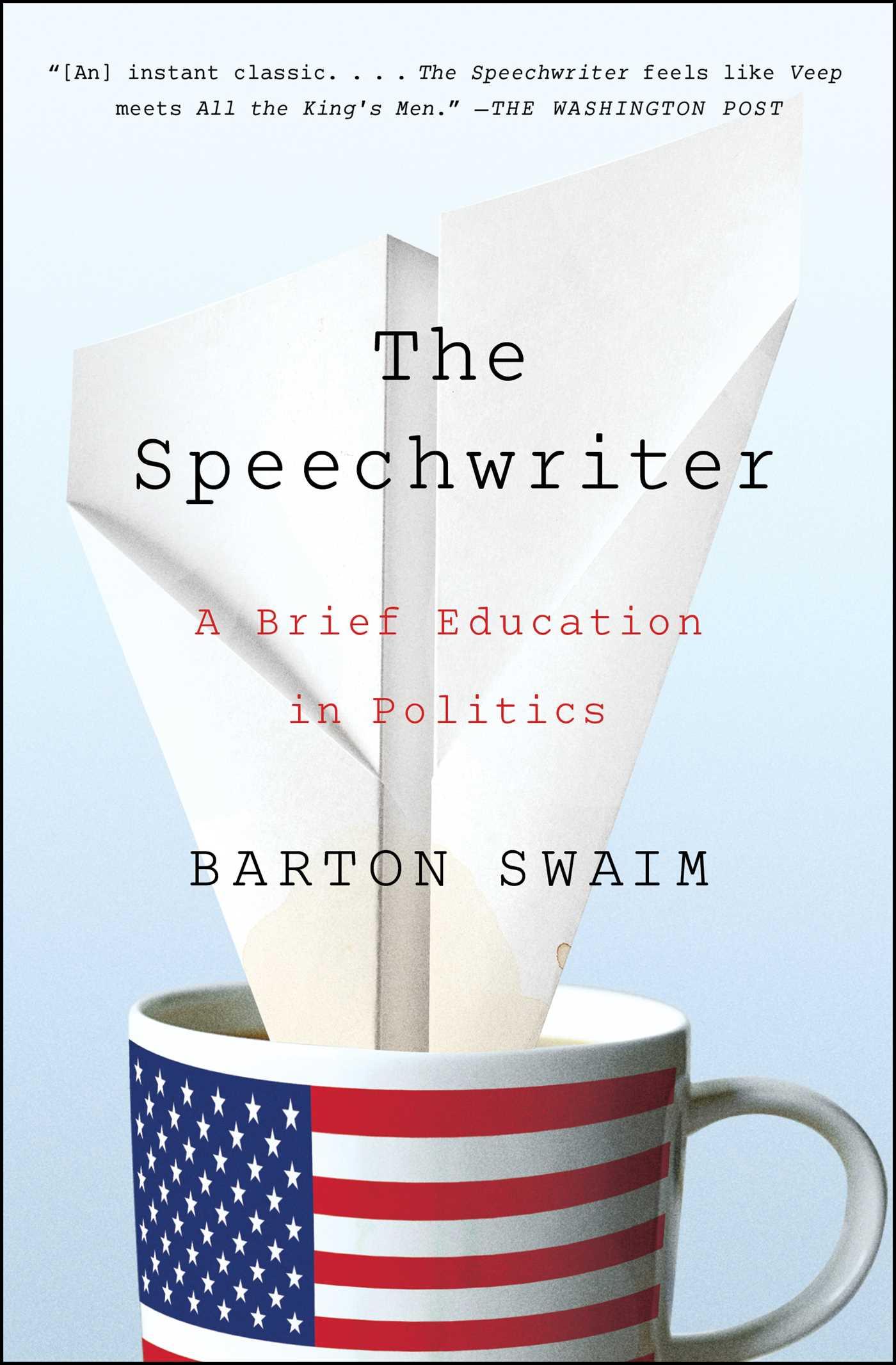 The speechwriter 9781476769943 hr