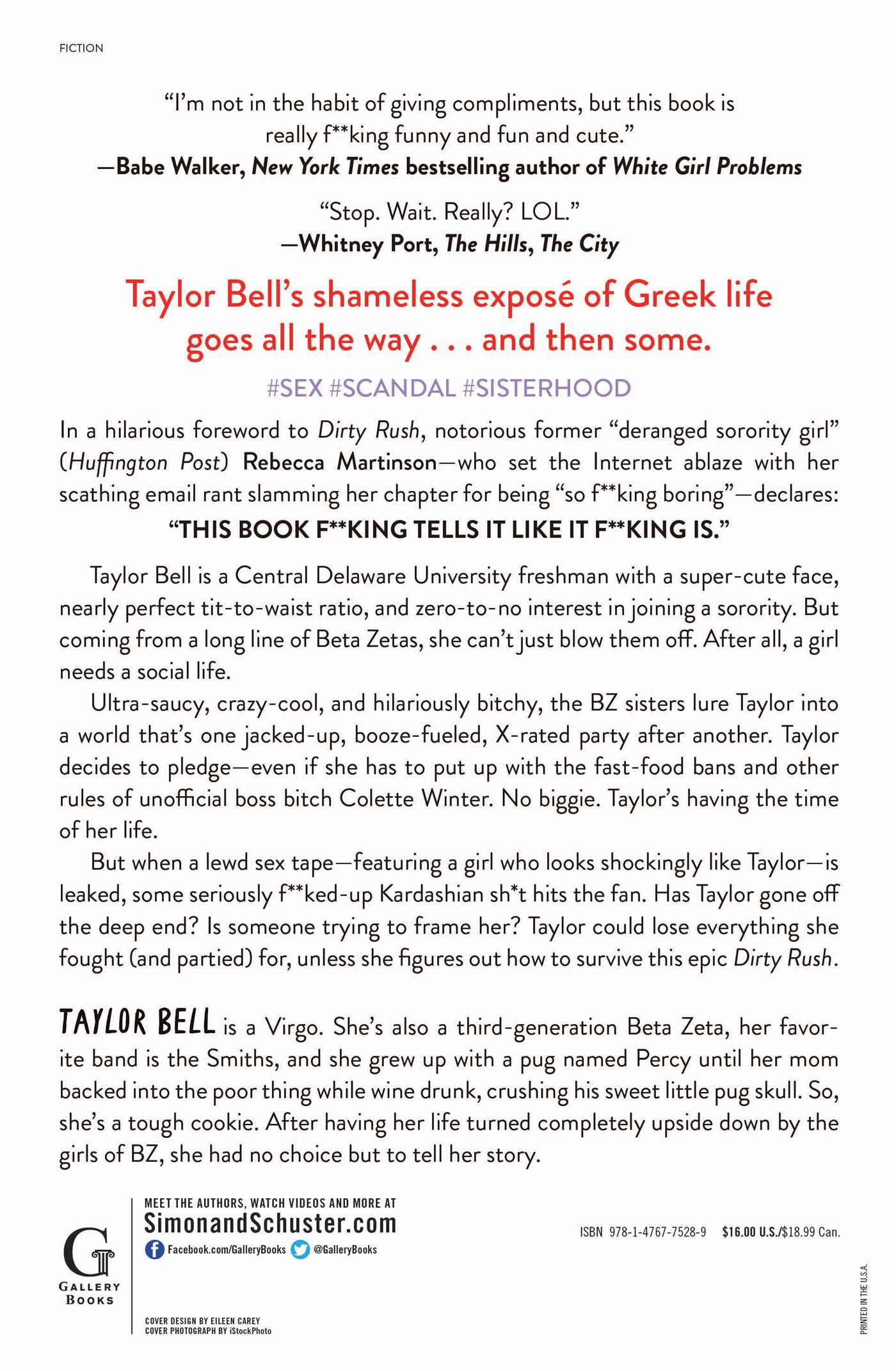 Dirty Rush Book By Taylor Bell Official Publisher Page Simon