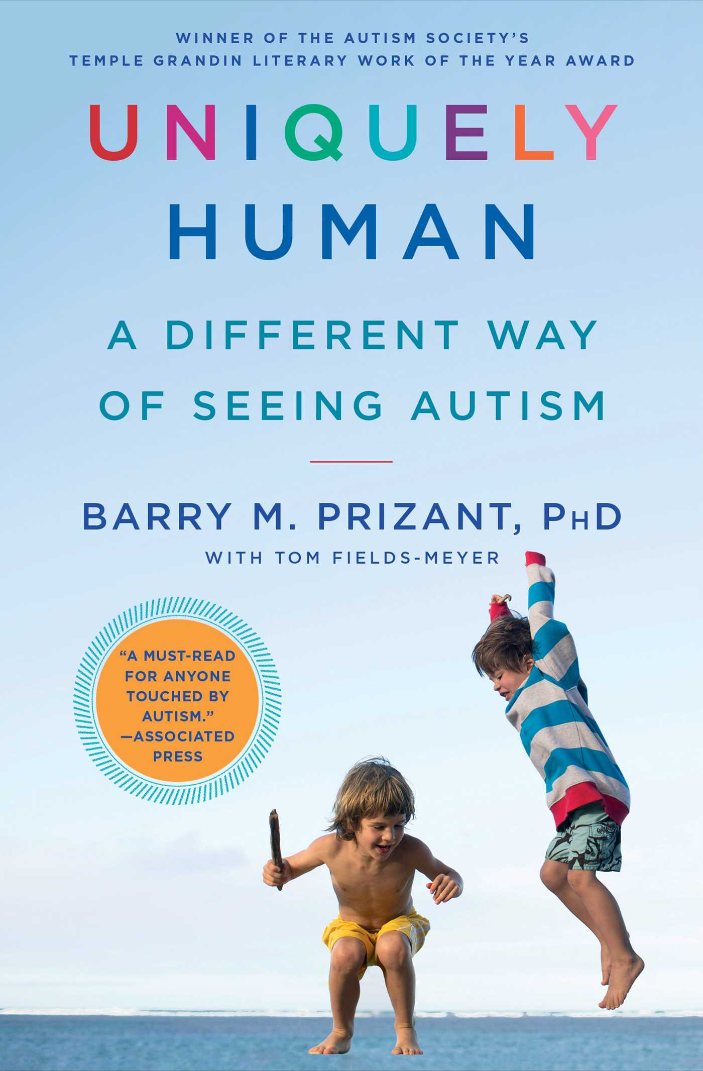 Uniquely Human Book By Barry M Prizant Tom Fields Meyer Wiring Observation Room Official Publisher Page Simon Schuster