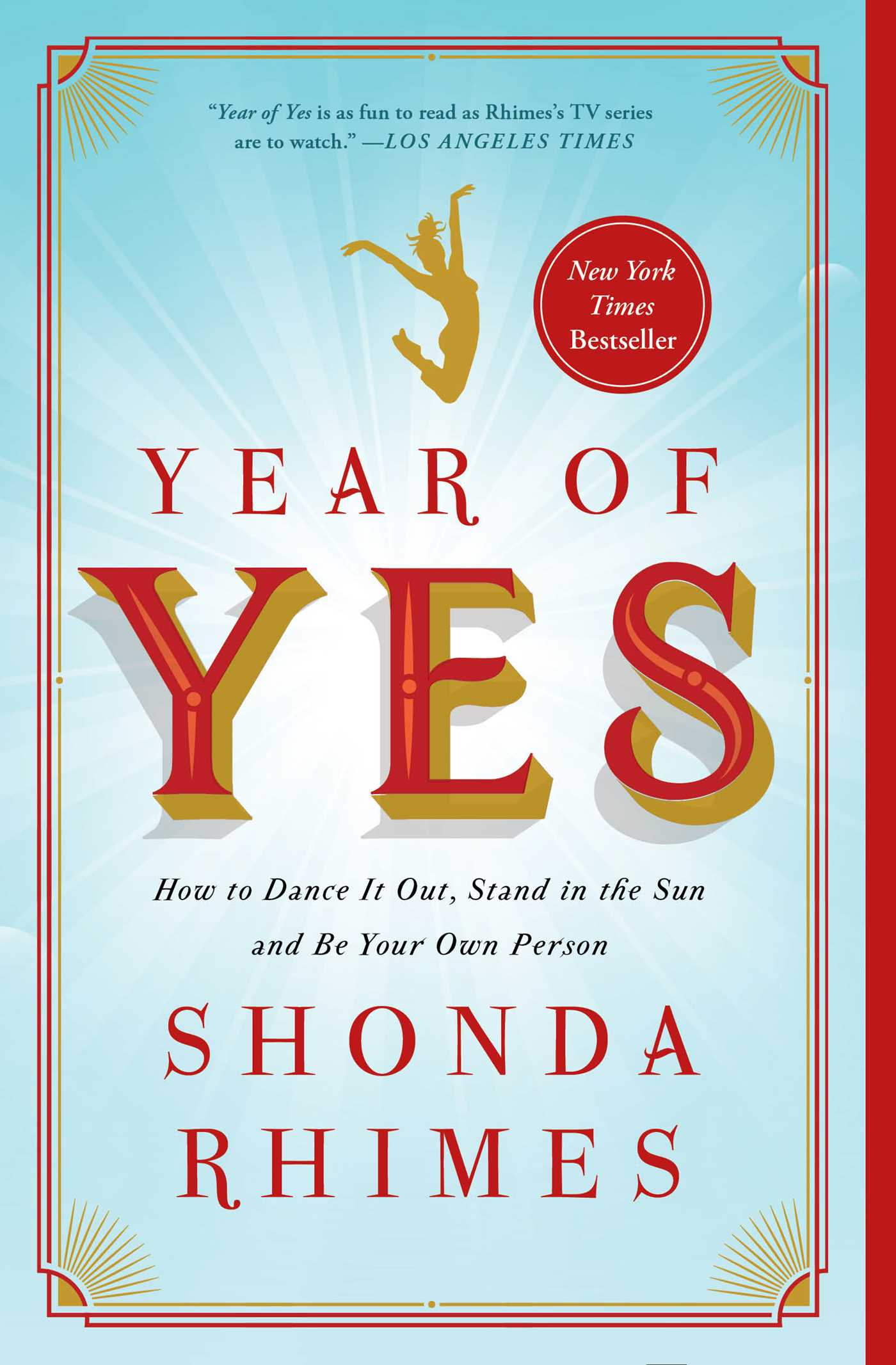 Year of yes ebook by shonda rhimes official publisher page simon how to dance it out stand in the sun and be your own person fandeluxe Choice Image