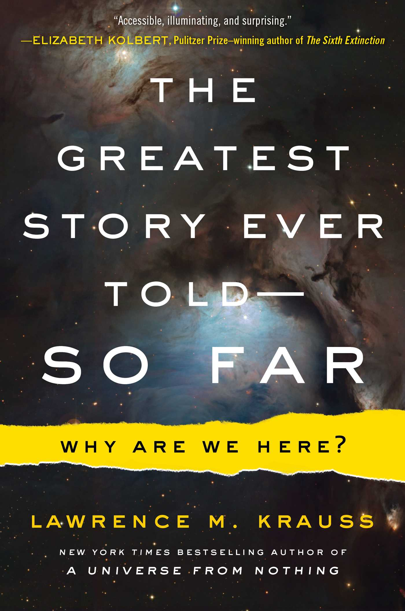 The greatest story ever told so far 9781476777610 hr