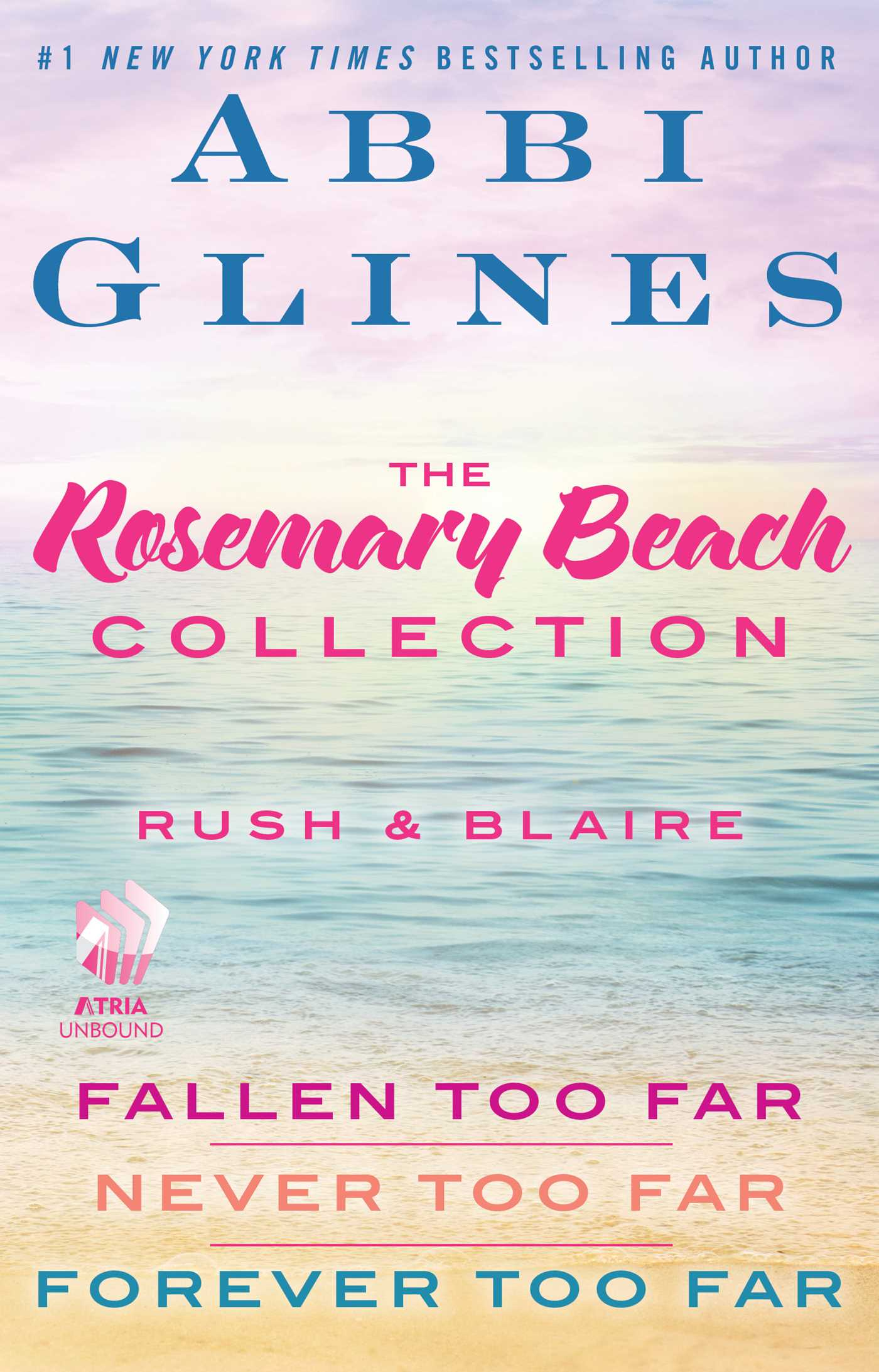 The rosemary beach collection rush and blaire ebook by abbi glines fallen too far never too far and forever too far fandeluxe Choice Image