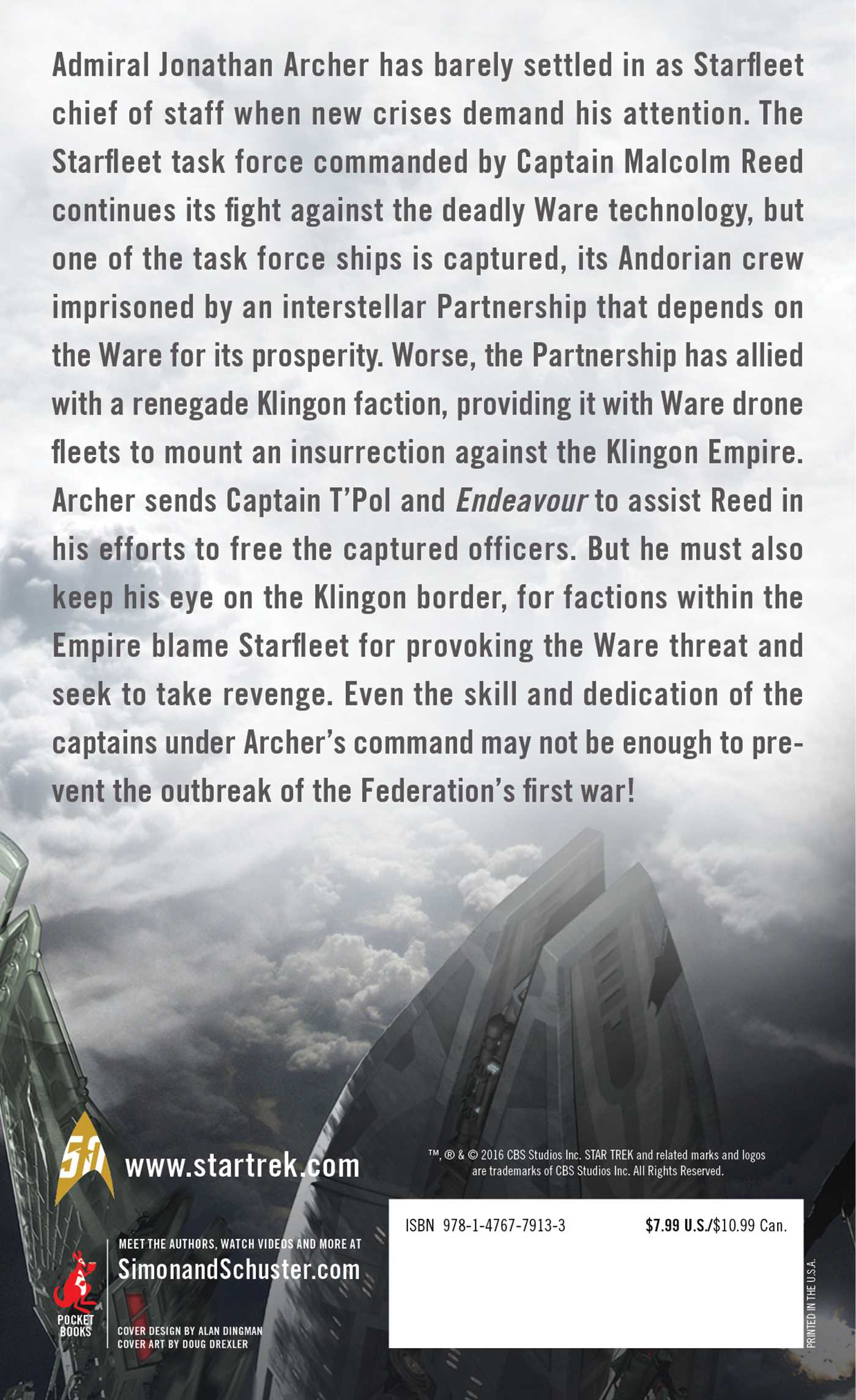 Rise of the federation live by the code 9781476779133 hr back