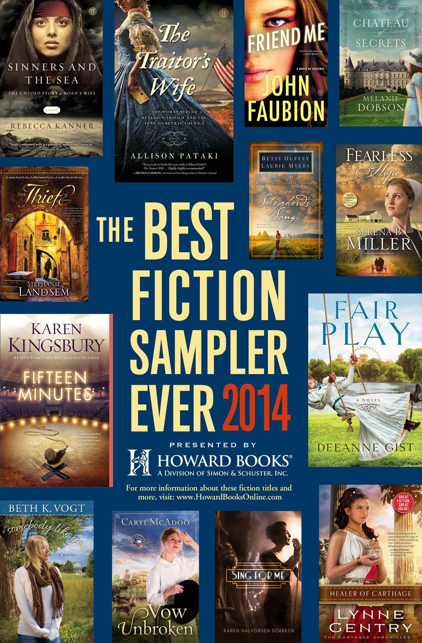 The best fiction sampler ever 2014 howard books 9781476779348 hr