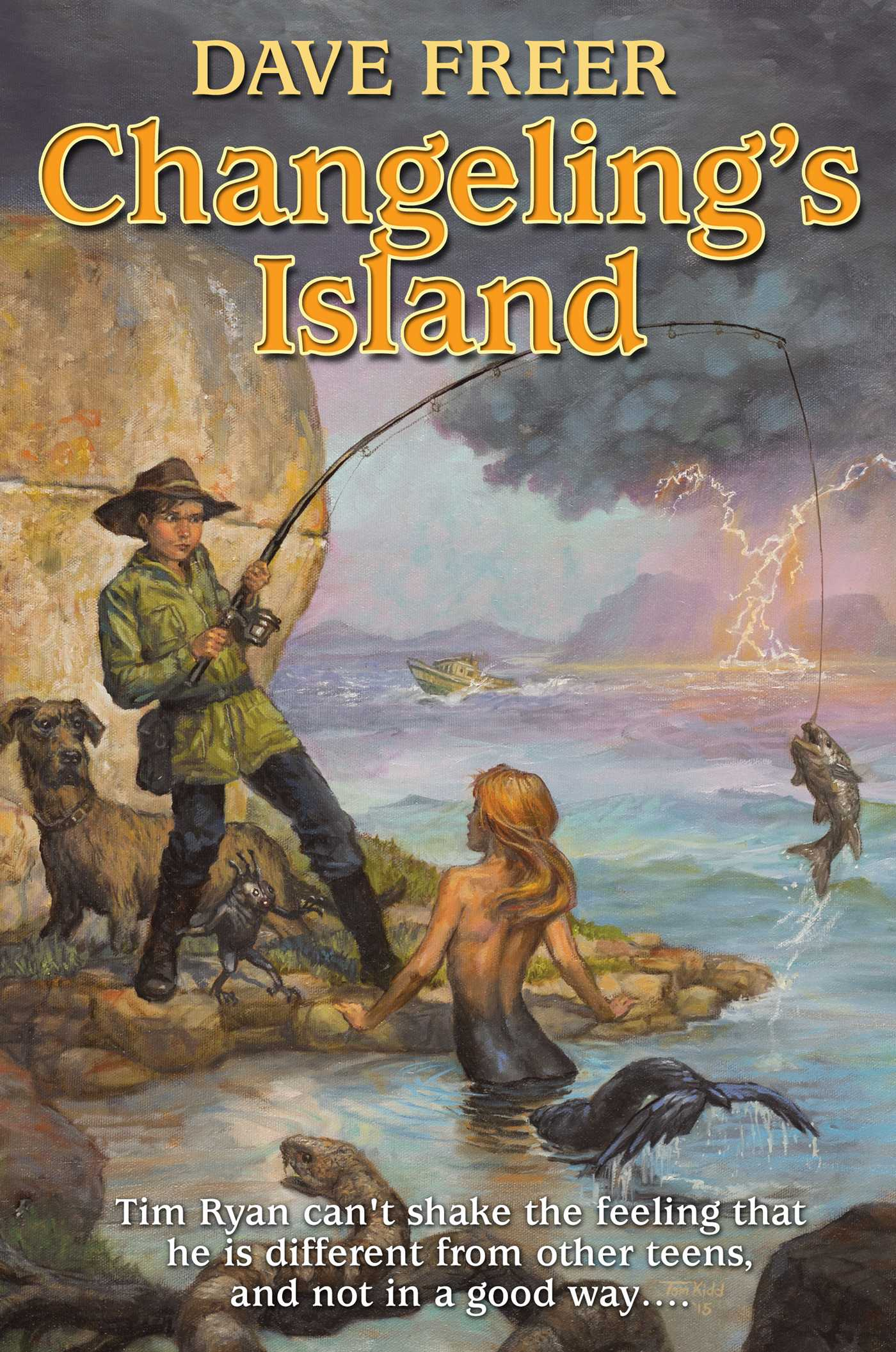 Changelings island 9781476781204 hr