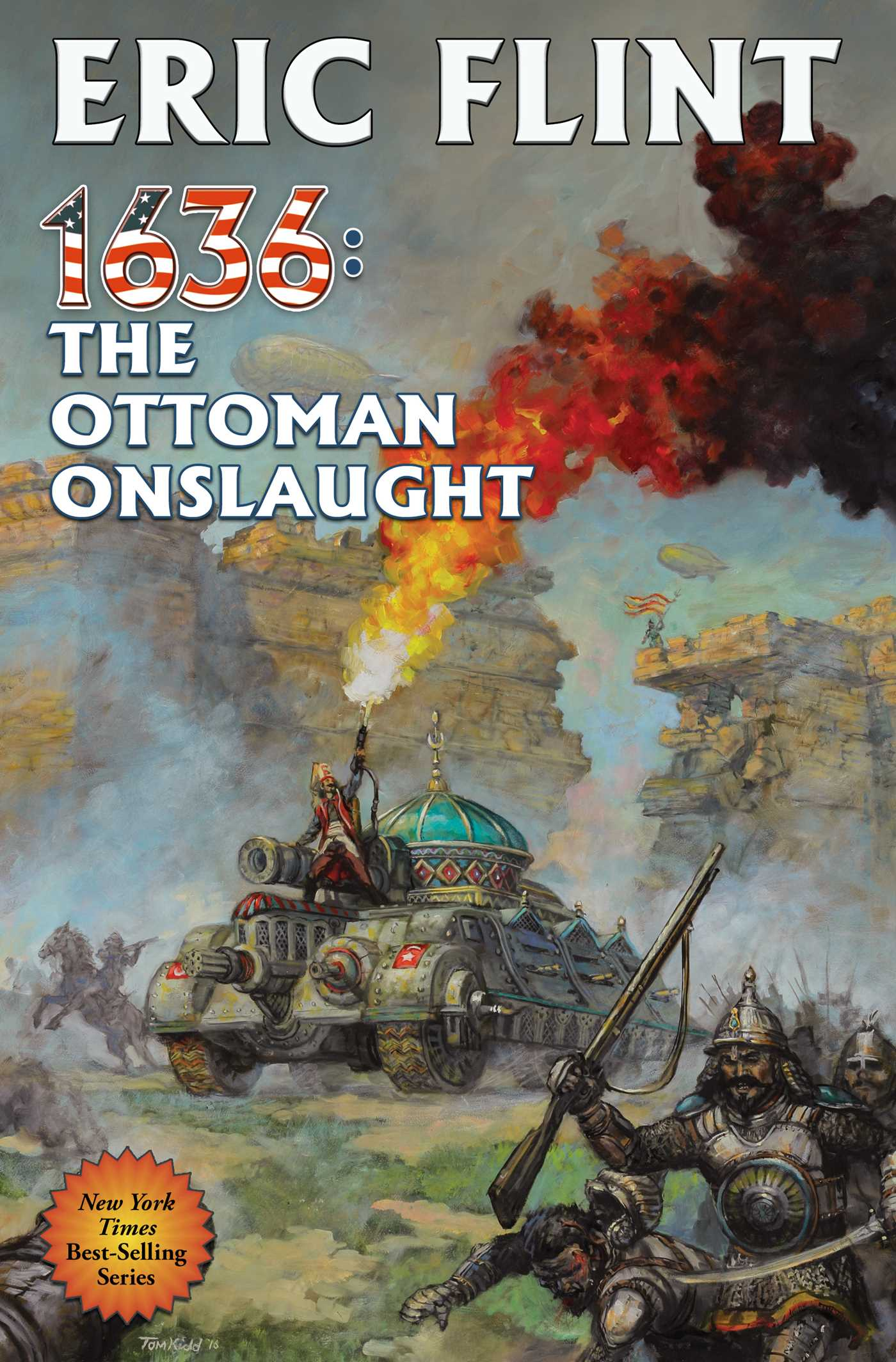 1636 the ottoman onslaught 9781476781846 hr