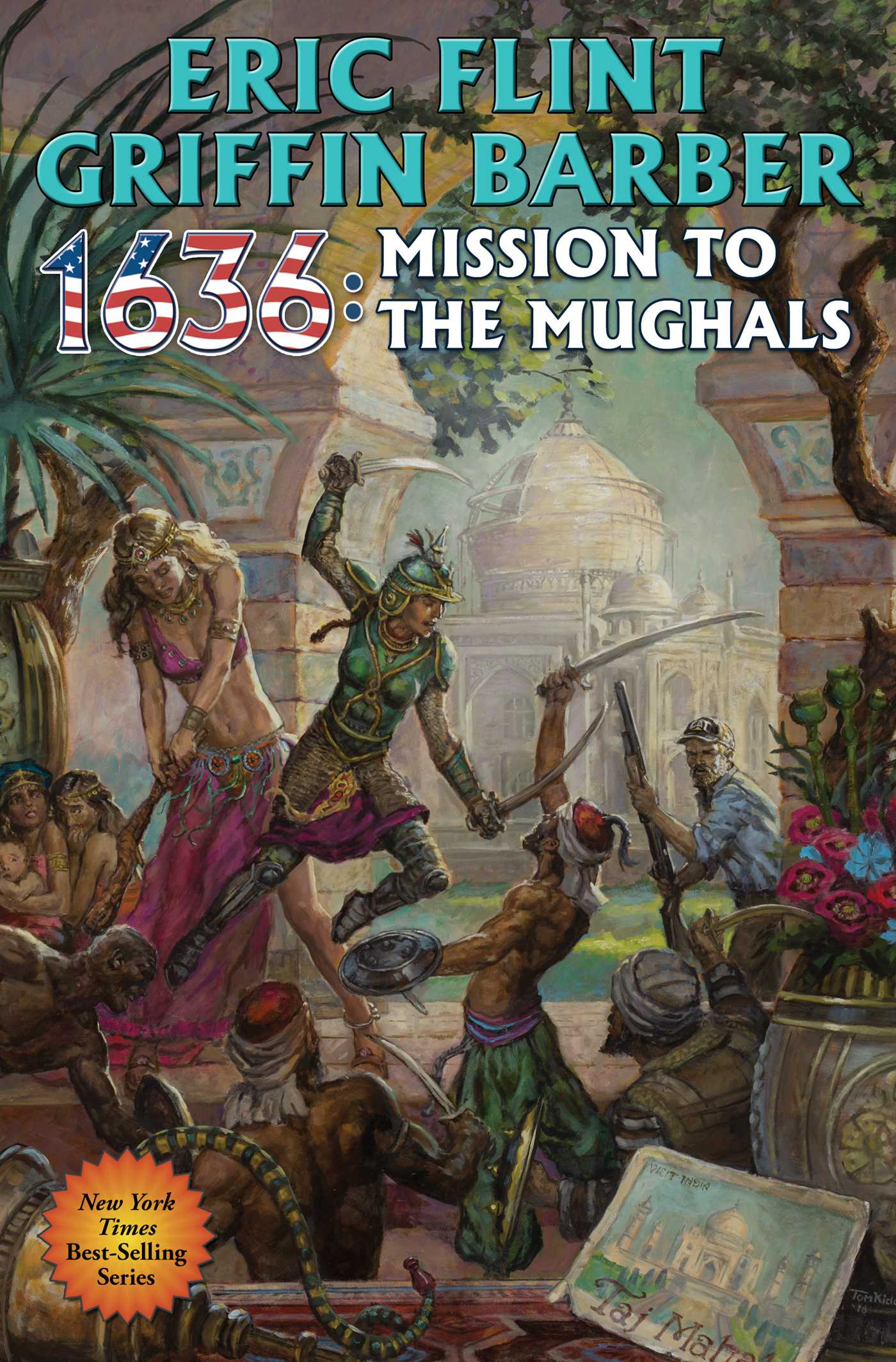 1636 mission to the mughals 9781476782140 hr