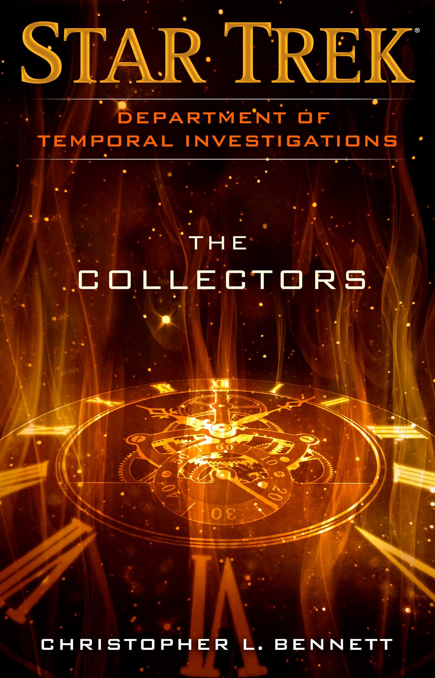 Department of temporal investigations the collectors 9781476782591 hr
