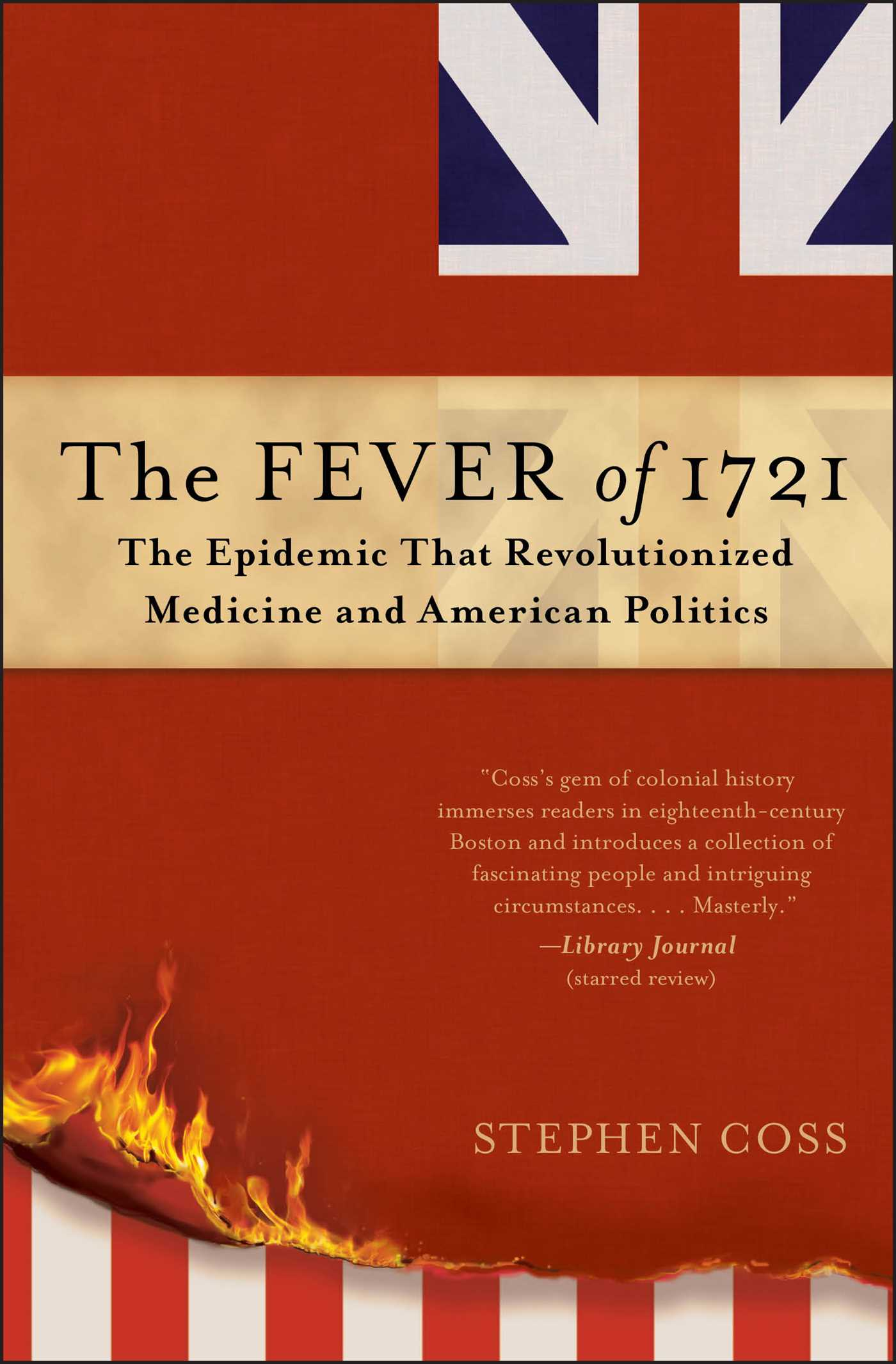 Book Cover Image (jpg): The Fever of 1721