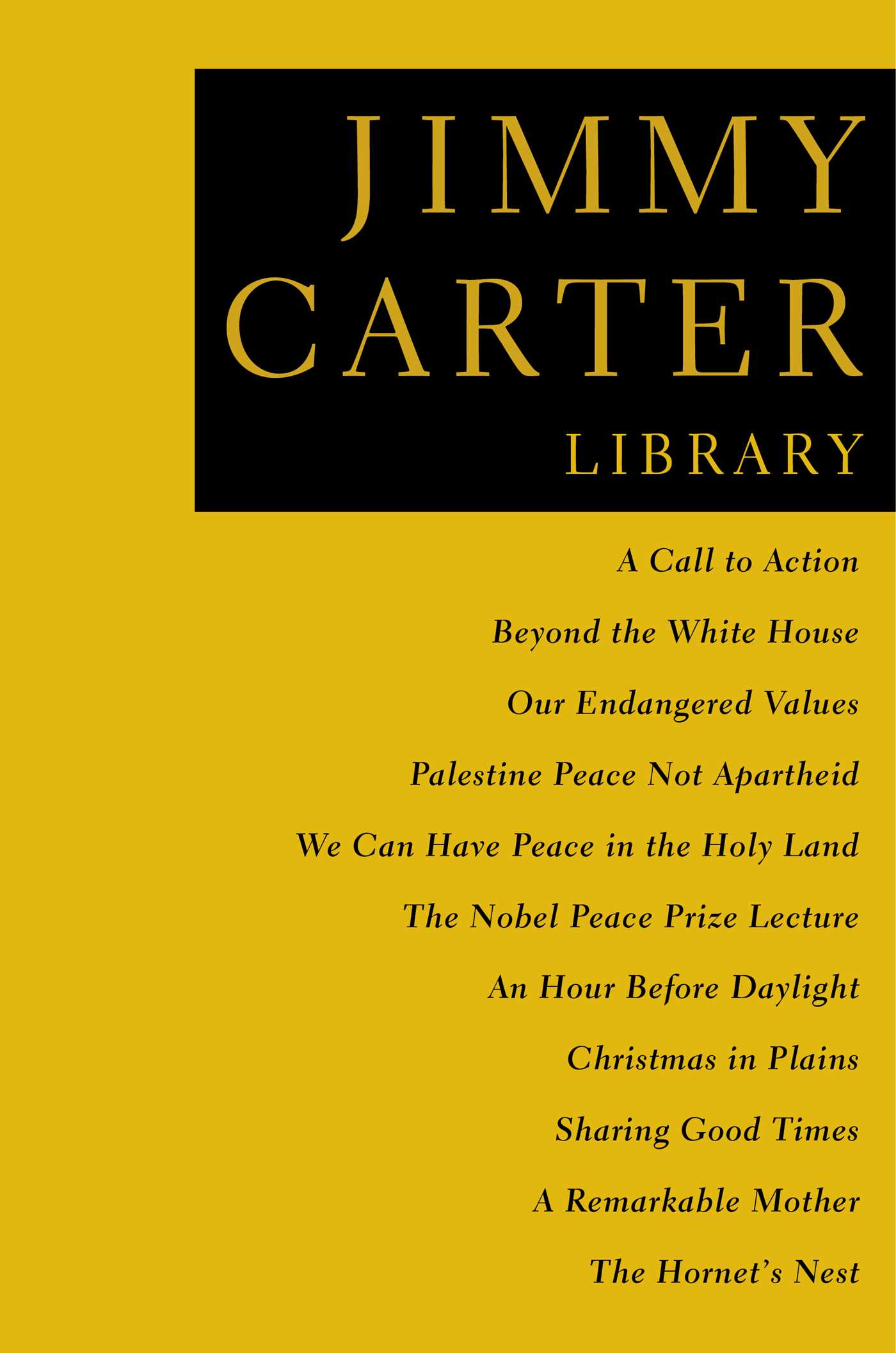 The jimmy carter library 9781476785271 hr