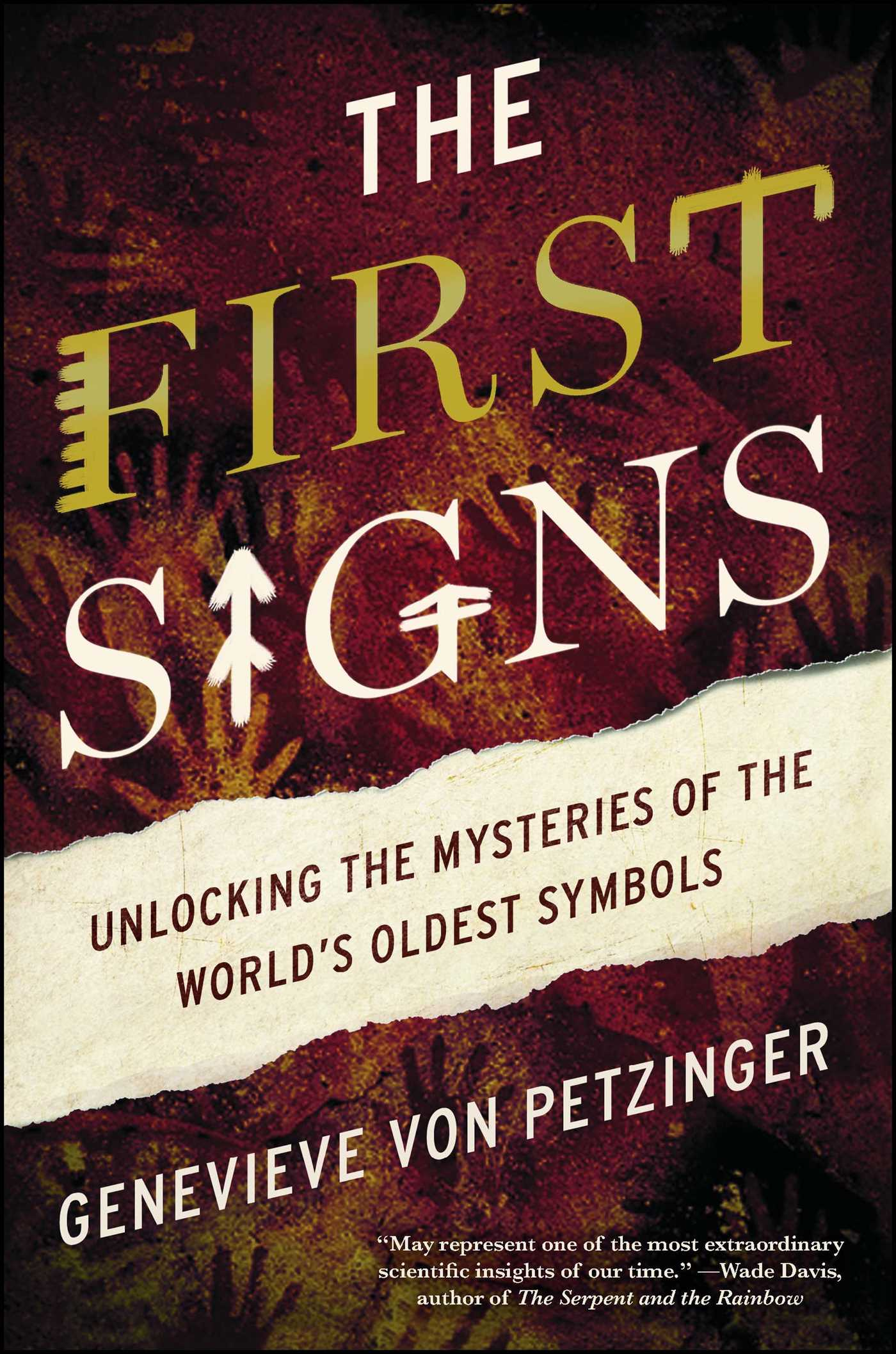The First Signs Book By Genevieve Von Petzinger Official