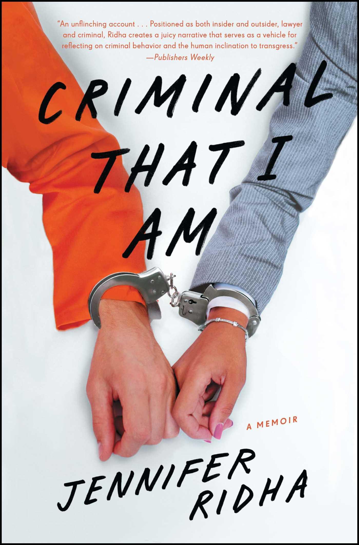 Criminal that i am 9781476785738 hr