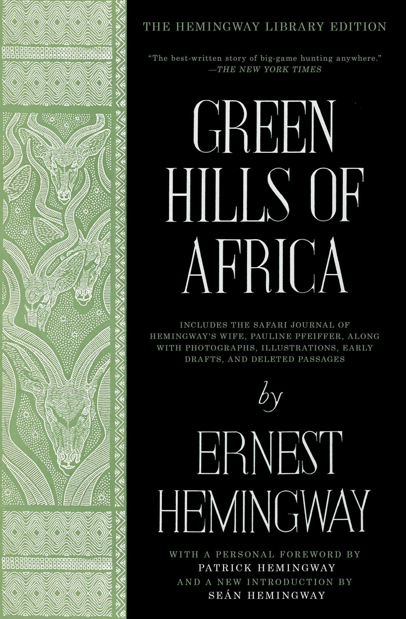 Green hills of africa 9781476787589 hr