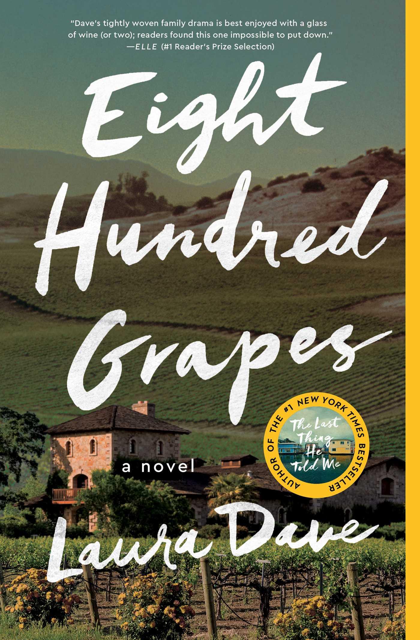 Eight hundred grapes 9781476789286 hr
