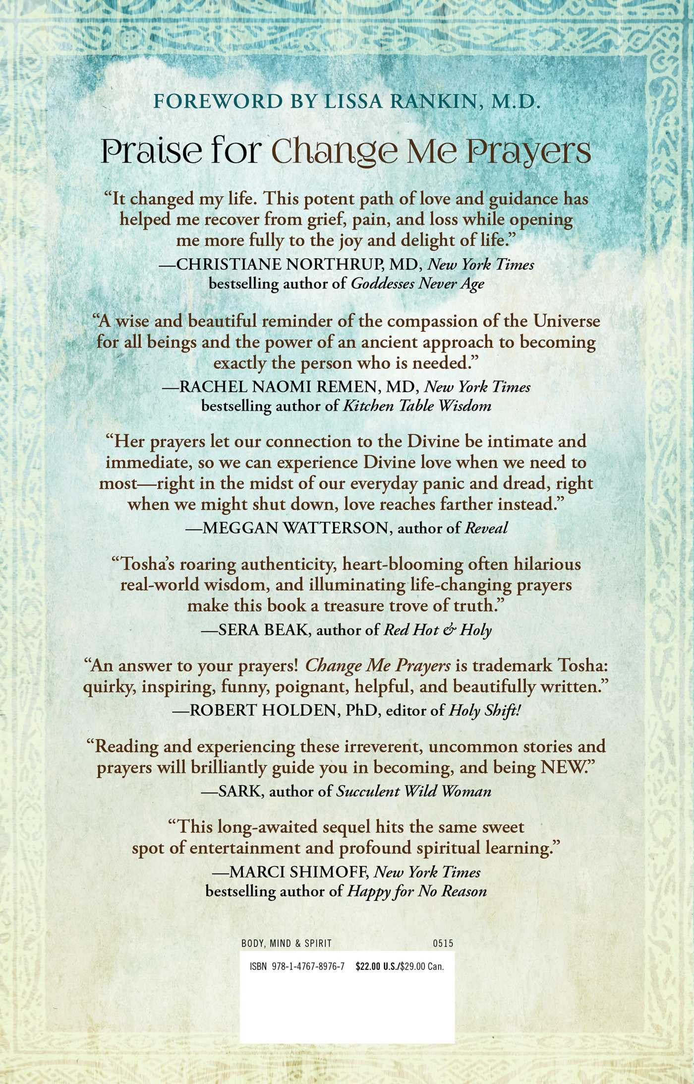 Change Me Prayers | Book by Tosha Silver, Lissa Rankin, M.D. ...