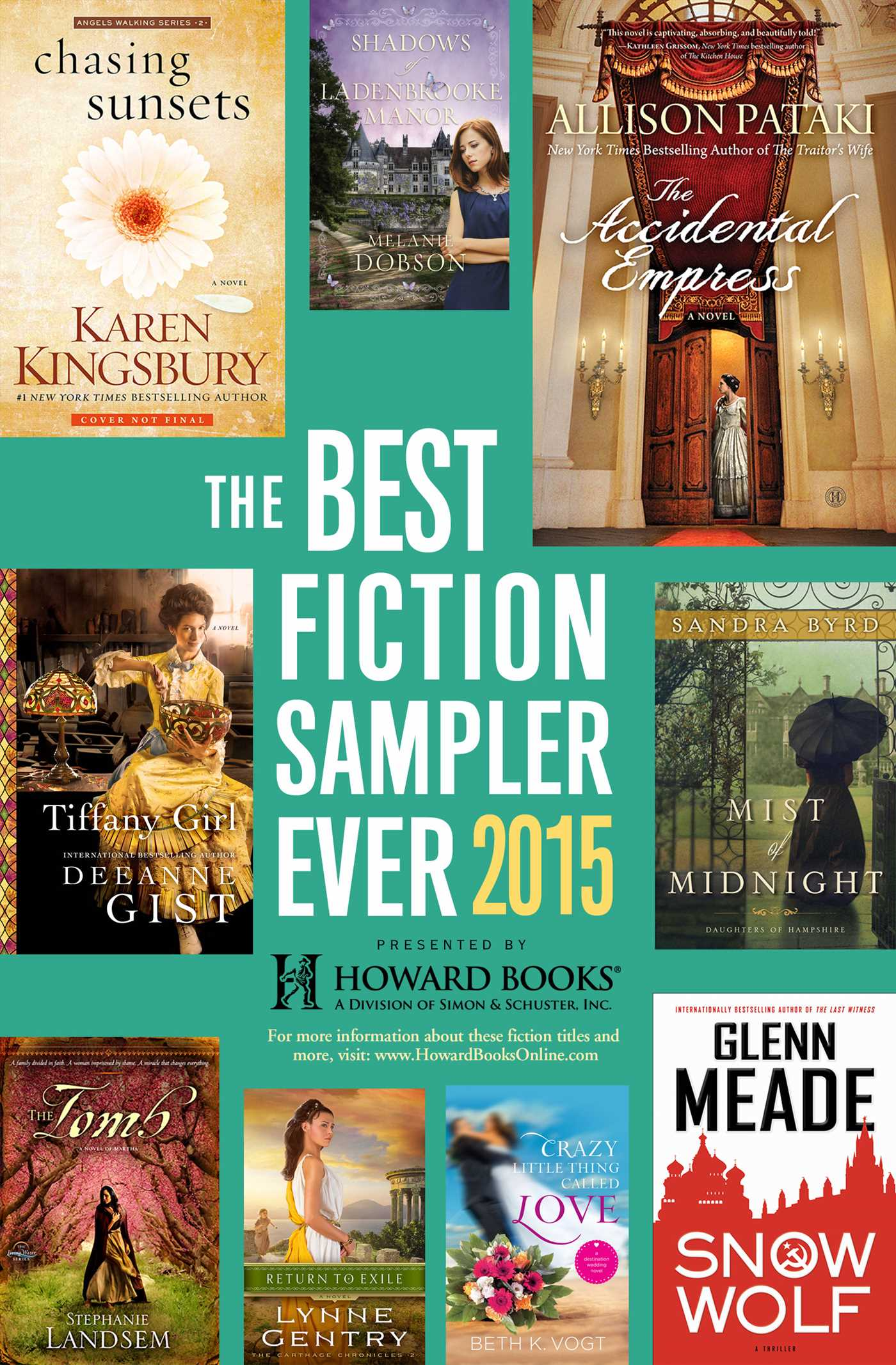 The best fiction sampler ever 2015 howard books 9781476790718 hr